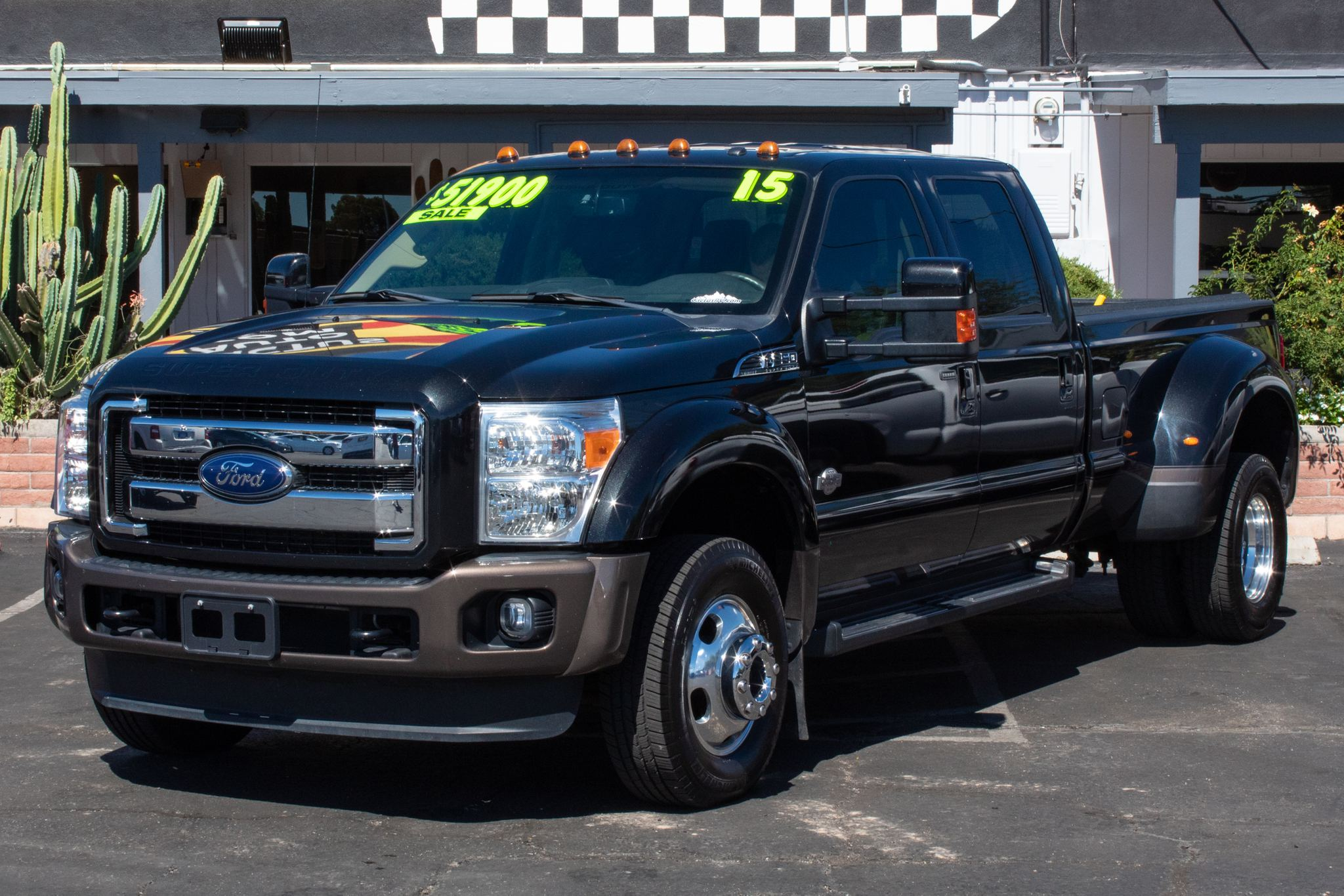 Photo of 2015 Ford F350 4WD Crew Cab King Ranch DRW