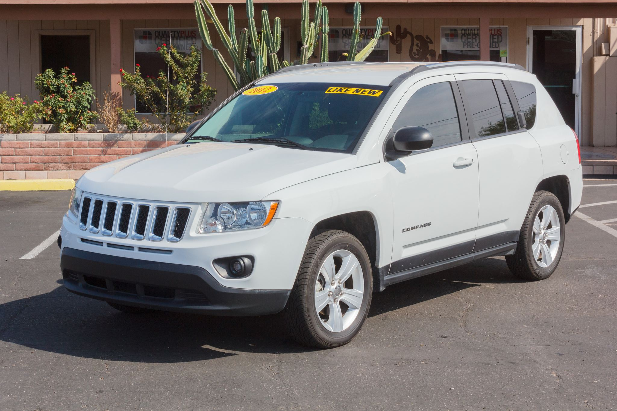Photo of 2012 Jeep Compass 4WD 4d Wagon Sport Bright White Clearcoat