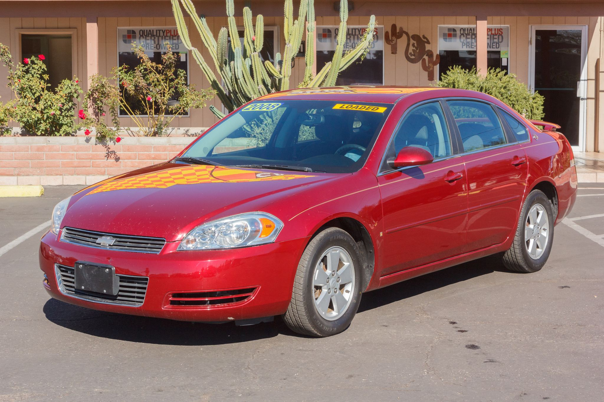 Photo of 2008 Chevrolet Impala 4d Sedan LT Precision Red