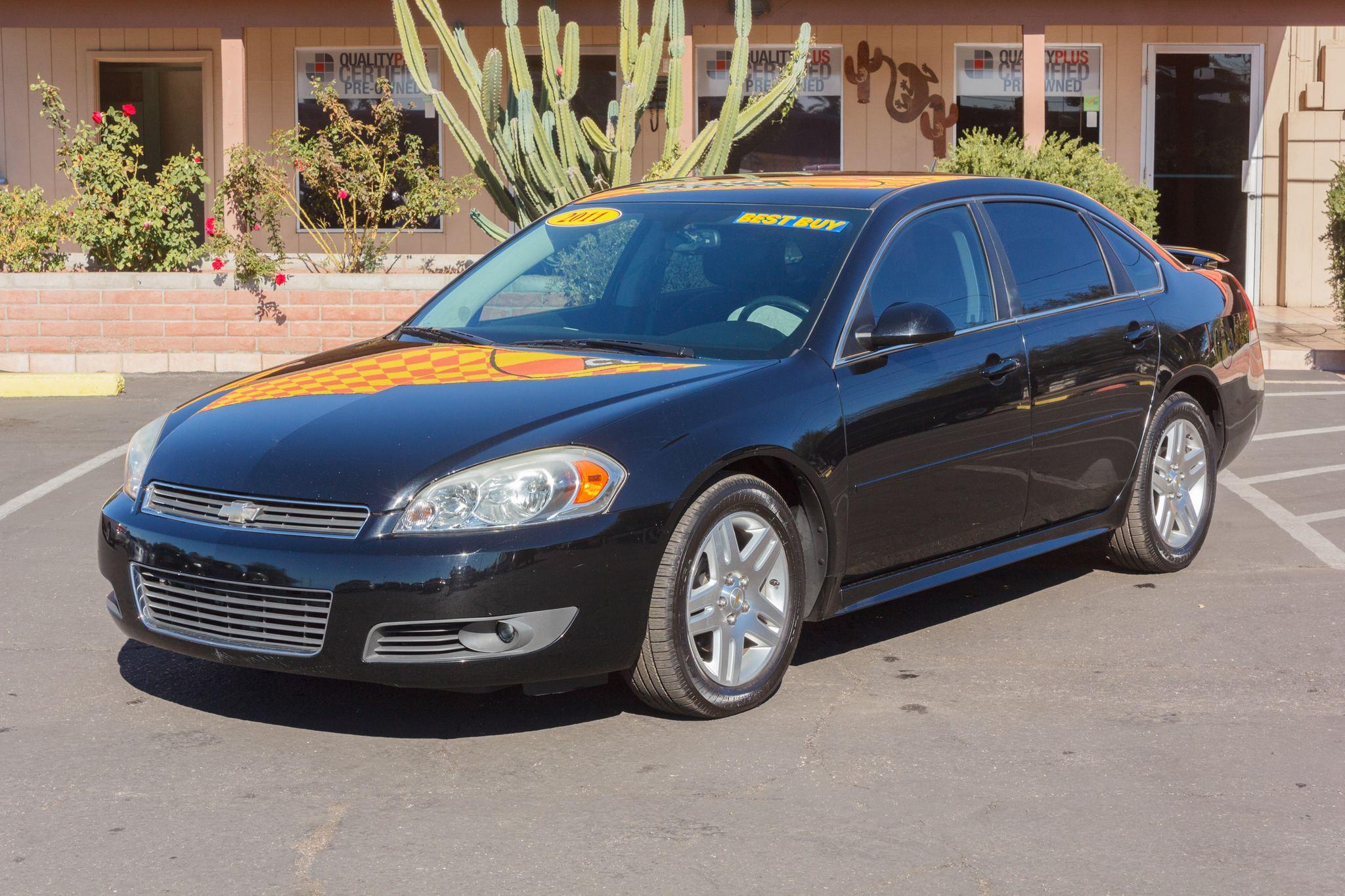 Photo of 2011 Chevrolet Impala 4d Sedan LT Black