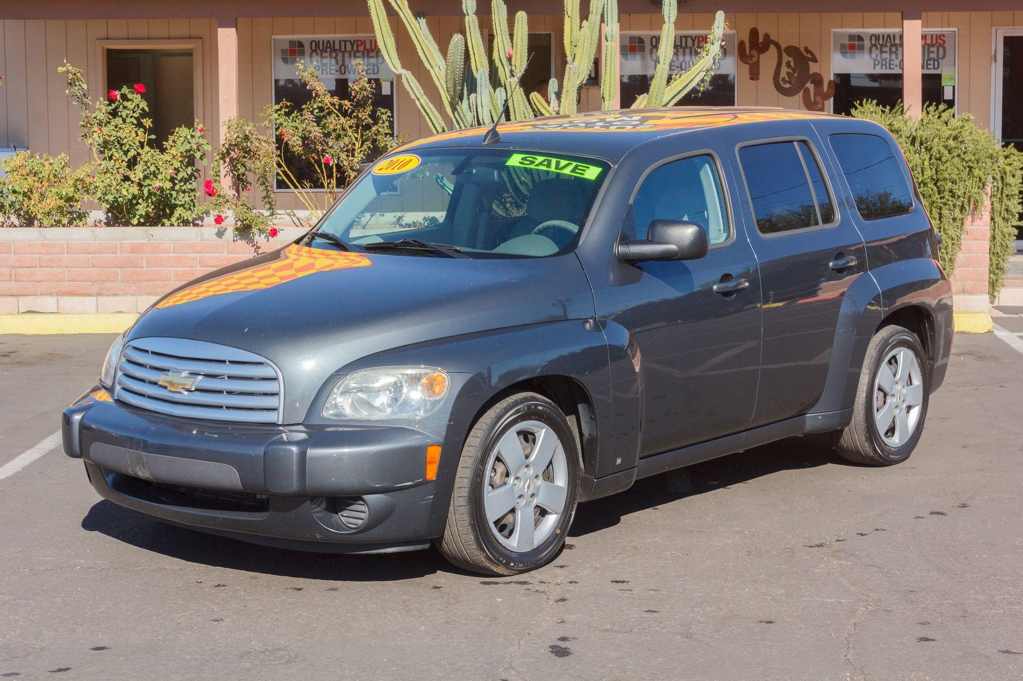 Photo of 2010 Chevrolet HHR 4d Wagon LS Silver Ice Metallic