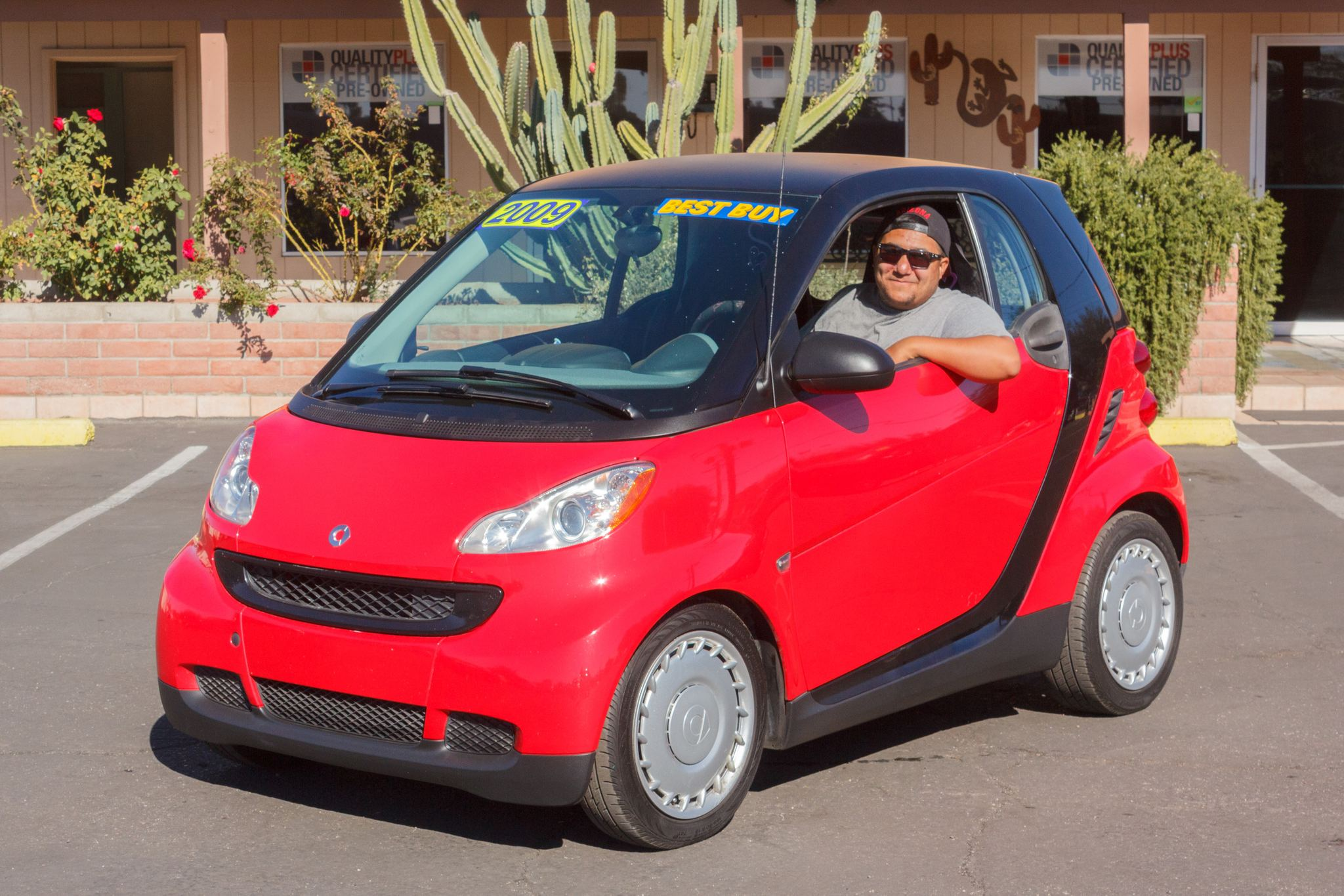 Photo of 2009 Smart Fortwo 2d Coupe Passion Rally Red