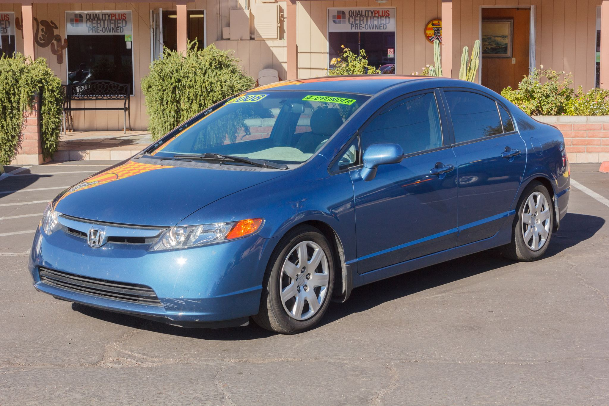 Photo of 2008 Honda Civic Sedan 4d Sedan LX Auto Fiji Blue Pearl