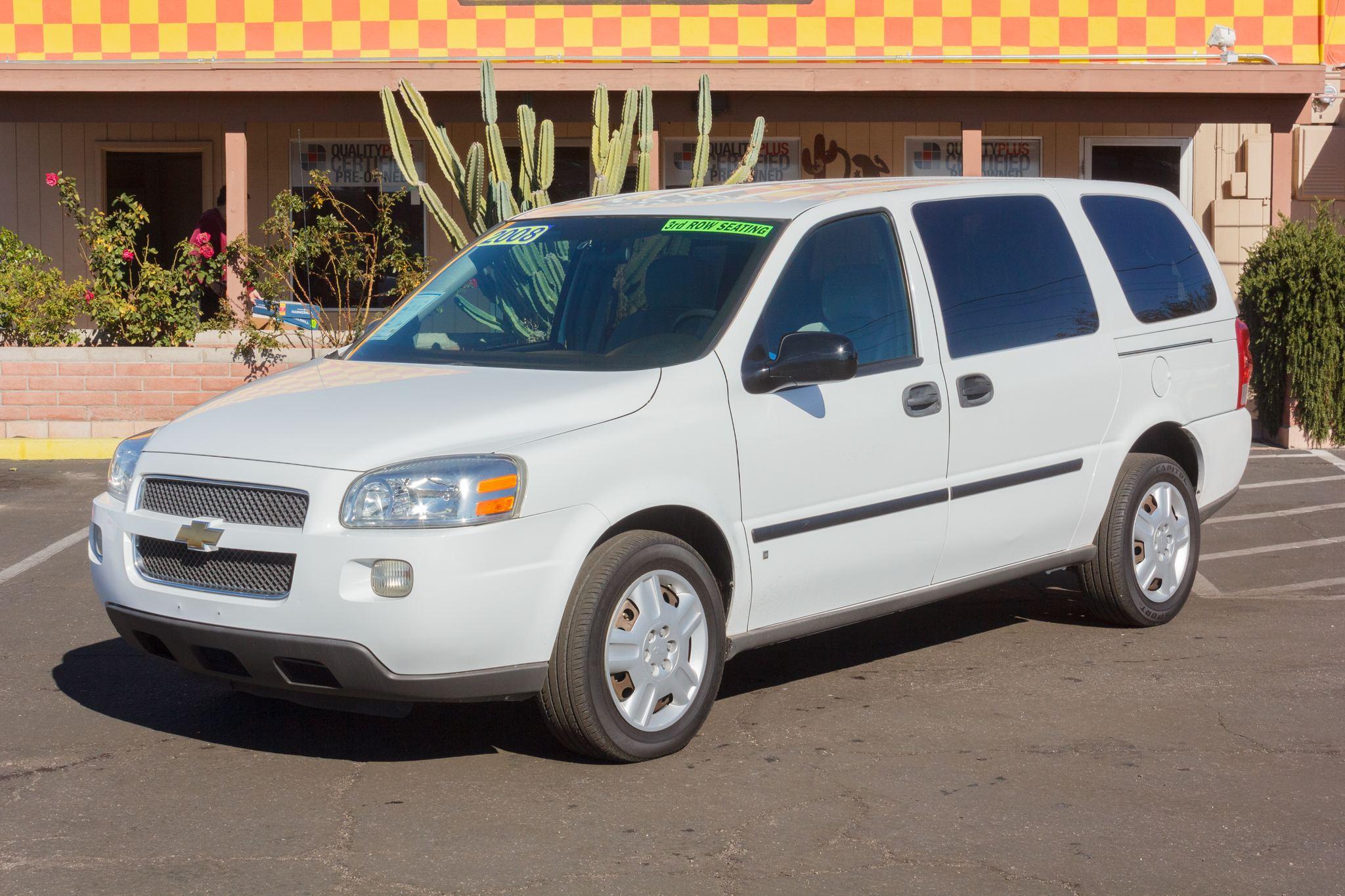 Photo of 2008 Chevrolet Uplander Cargo Van 4d Van Summit White
