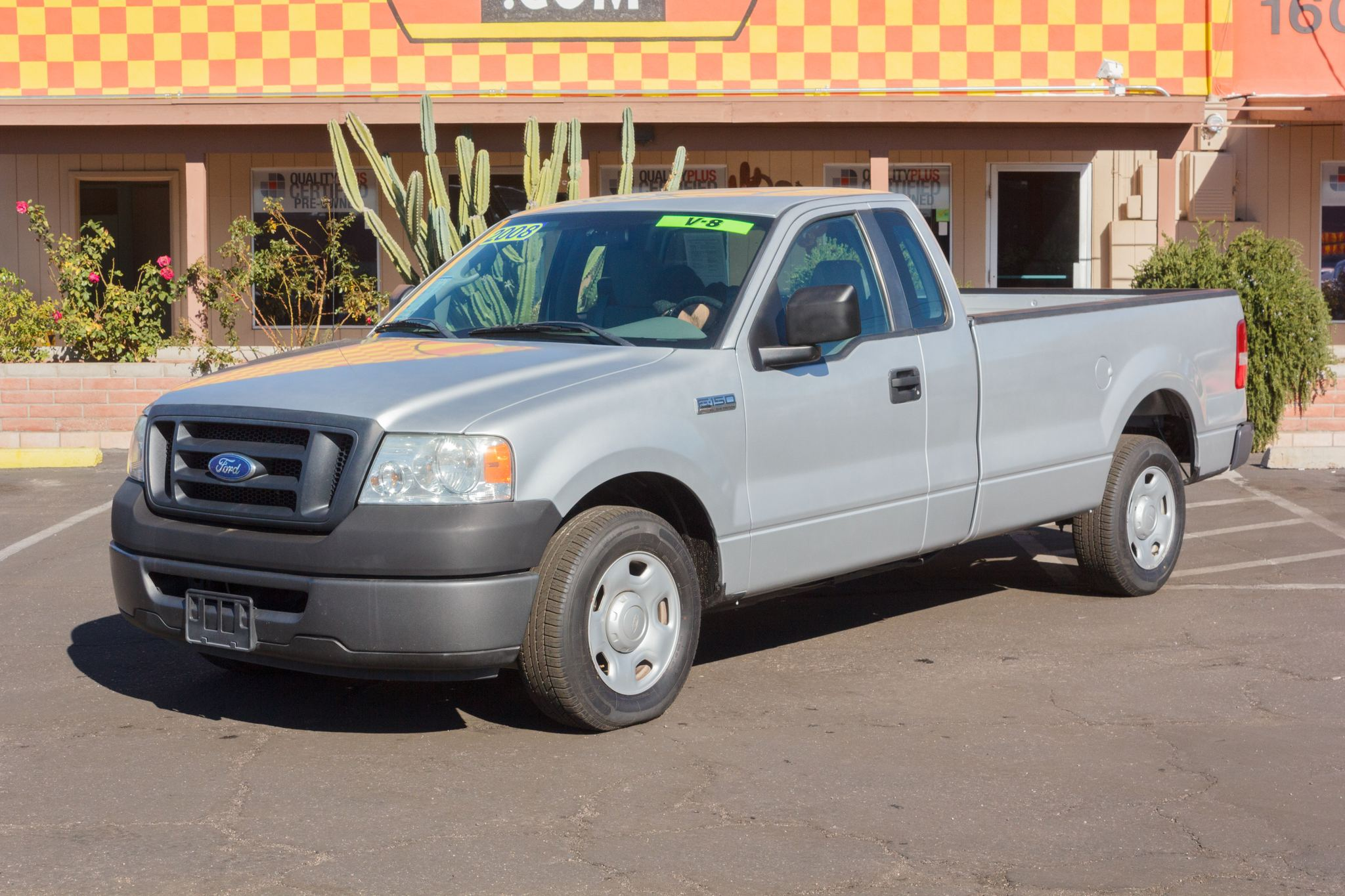 Photo of 2008 Ford F150 2WD Reg Cab XL Longbed Silver Clearcoat Metallic