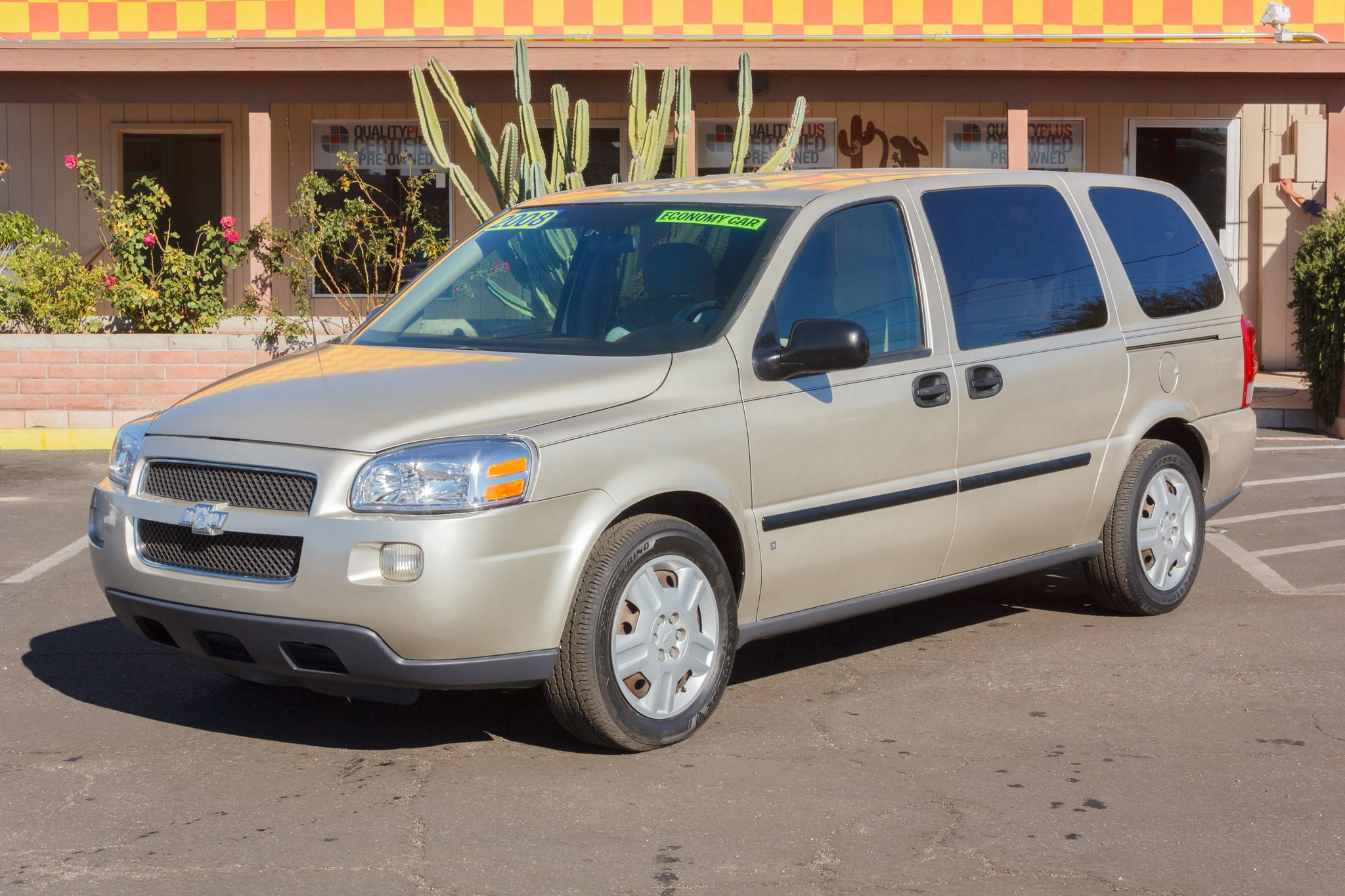 Photo of 2008 Chevrolet Uplander 4d Ext Wagon LS Gold Mist Metallic