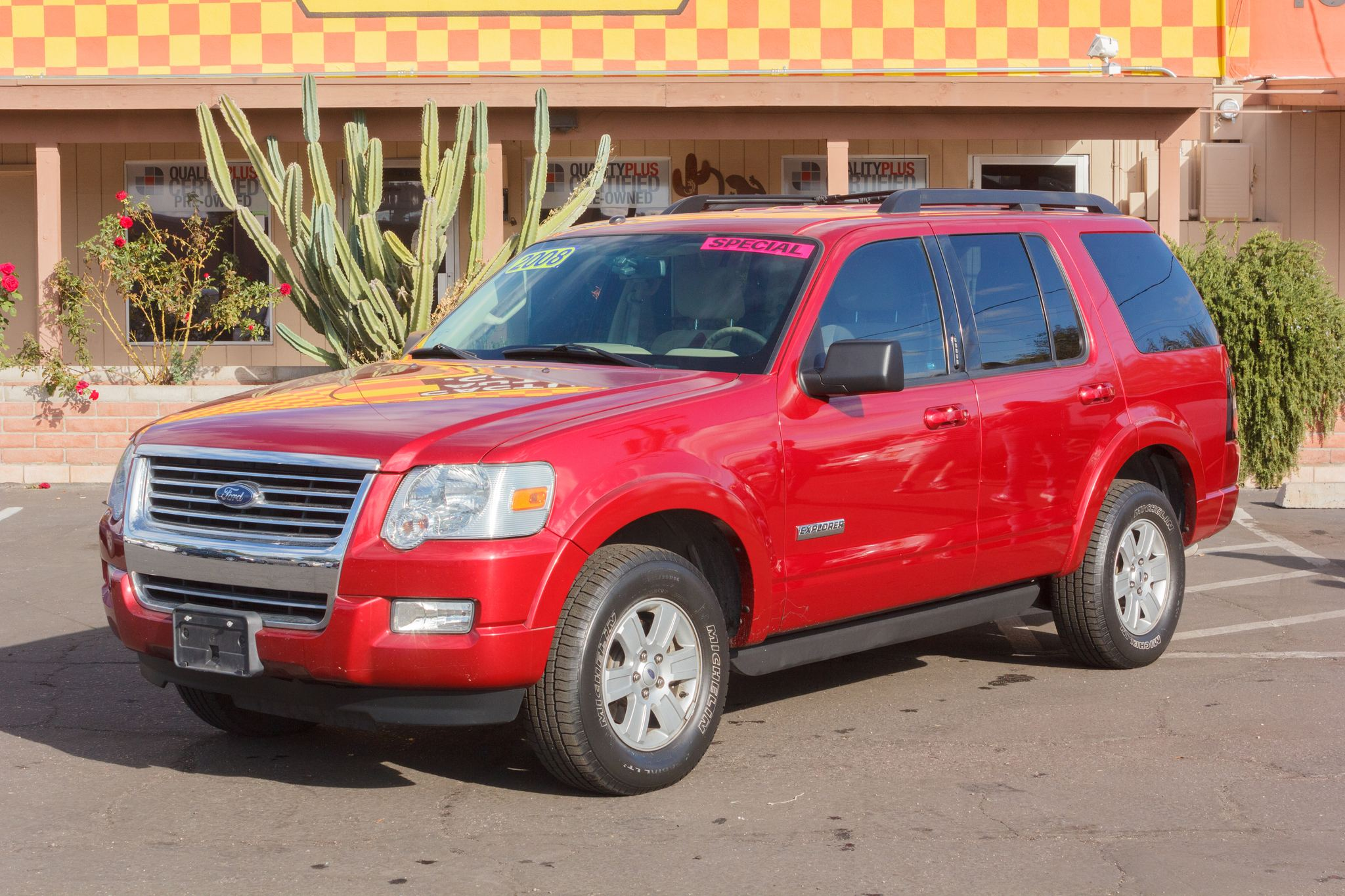 Photo of 2008 Ford Explorer 2WD 4d Wagon XLT V6 Colorado Red Clearcoat