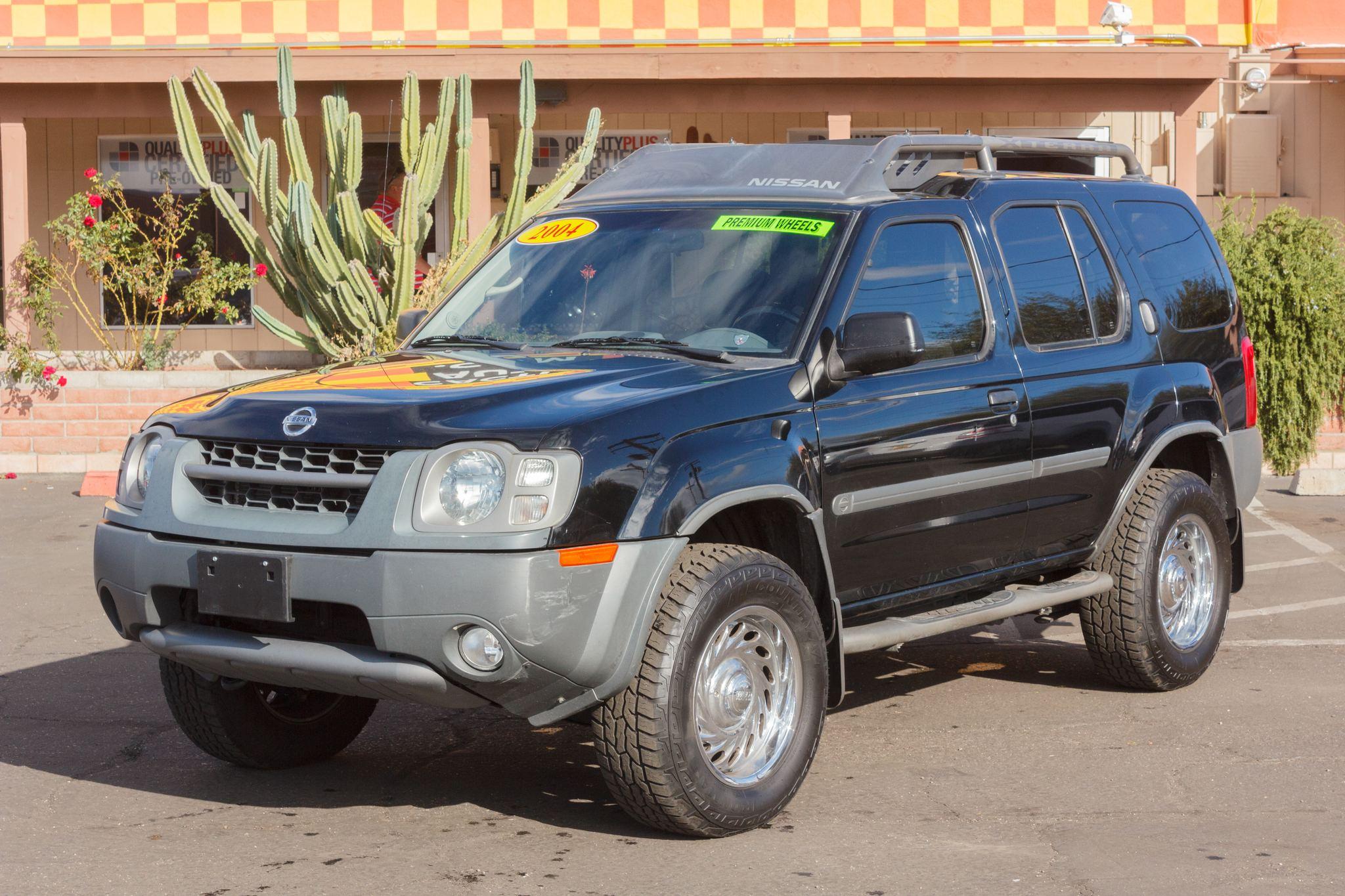 Photo of 2004 Nissan Xterra 2WD 4d Wagon SE Super Black