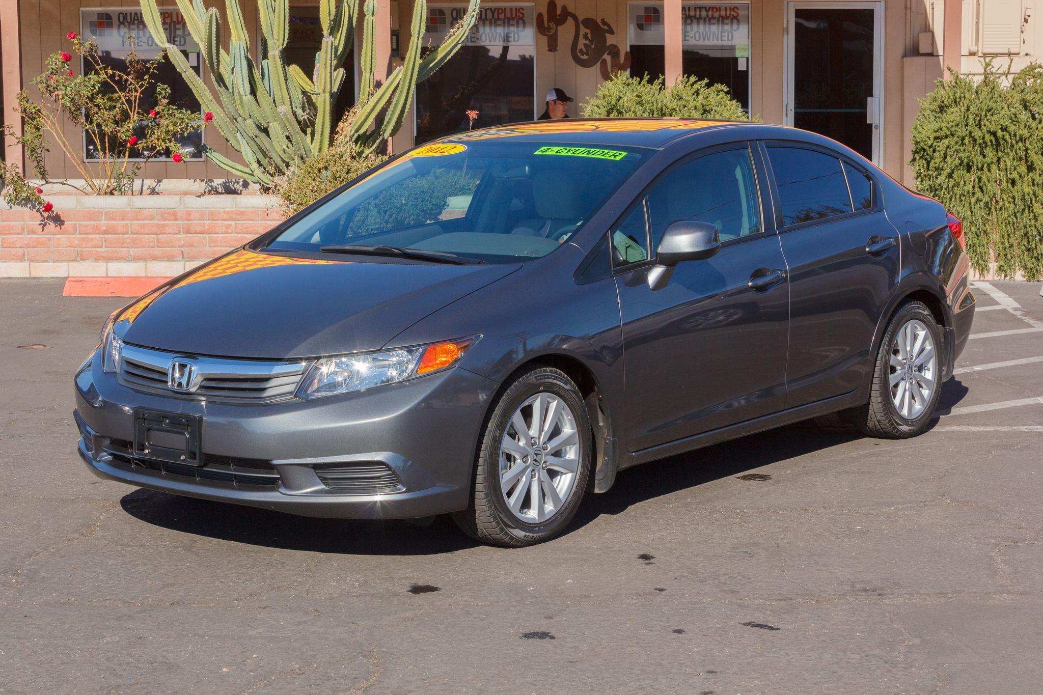 Photo of 2012 Honda Civic Sedan 4d Sedan EX Polished Metal Metallic