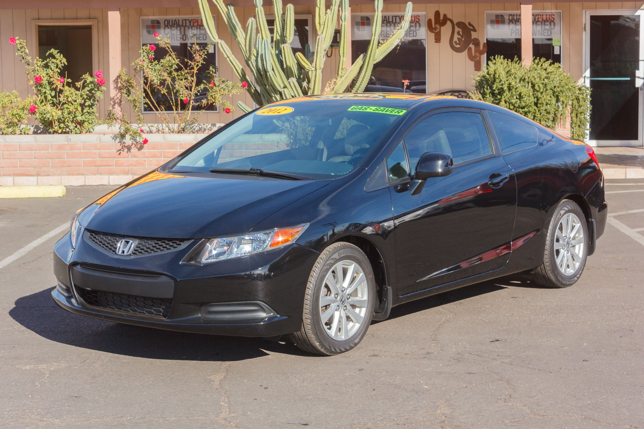Photo of 2012 Honda Civic Coupe 2d Coupe EX Auto Crystal Black Pearl
