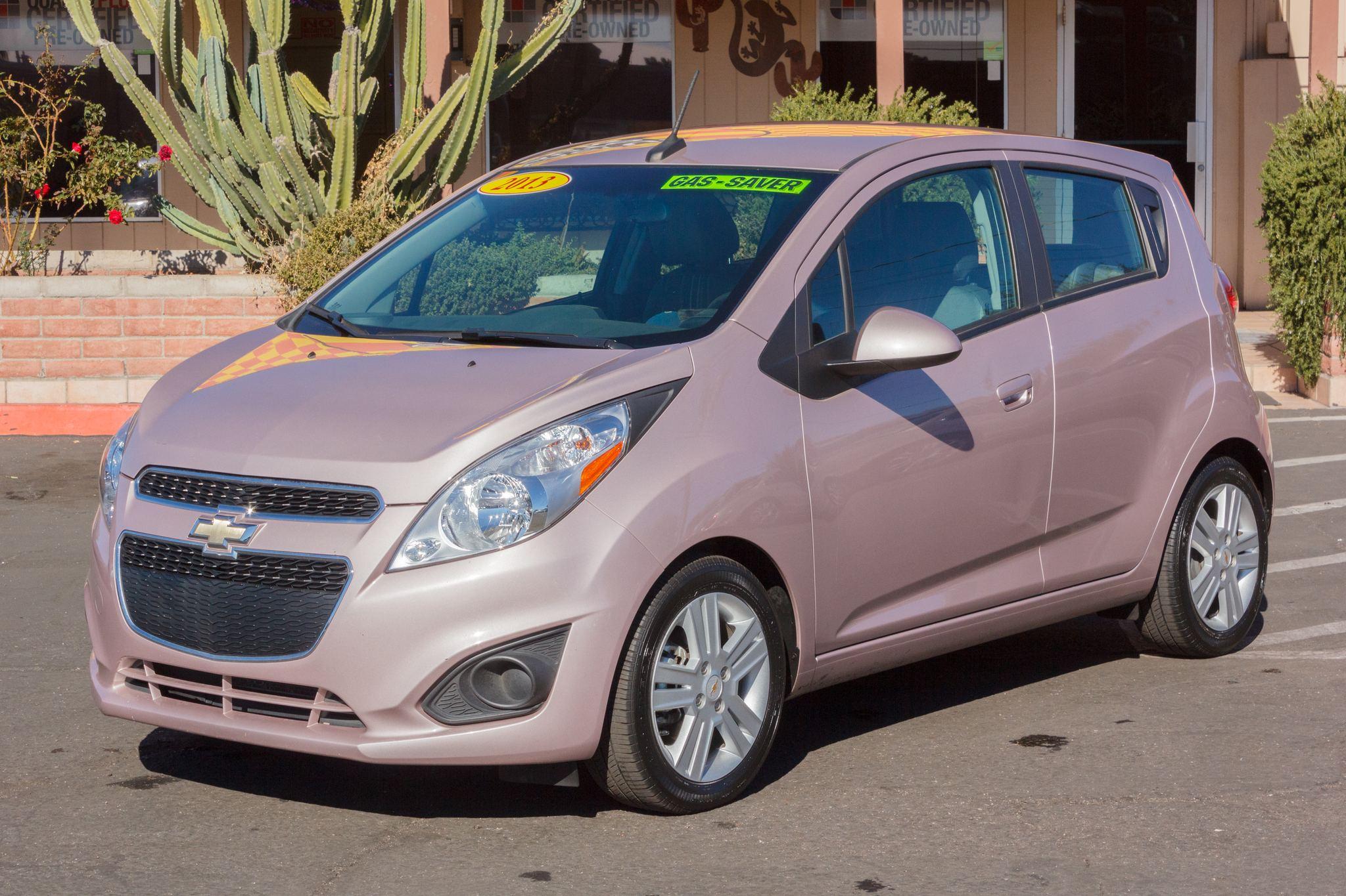 Photo of 2013 Chevrolet Spark 4d Hatchback LS AT Techno Pink Metallic