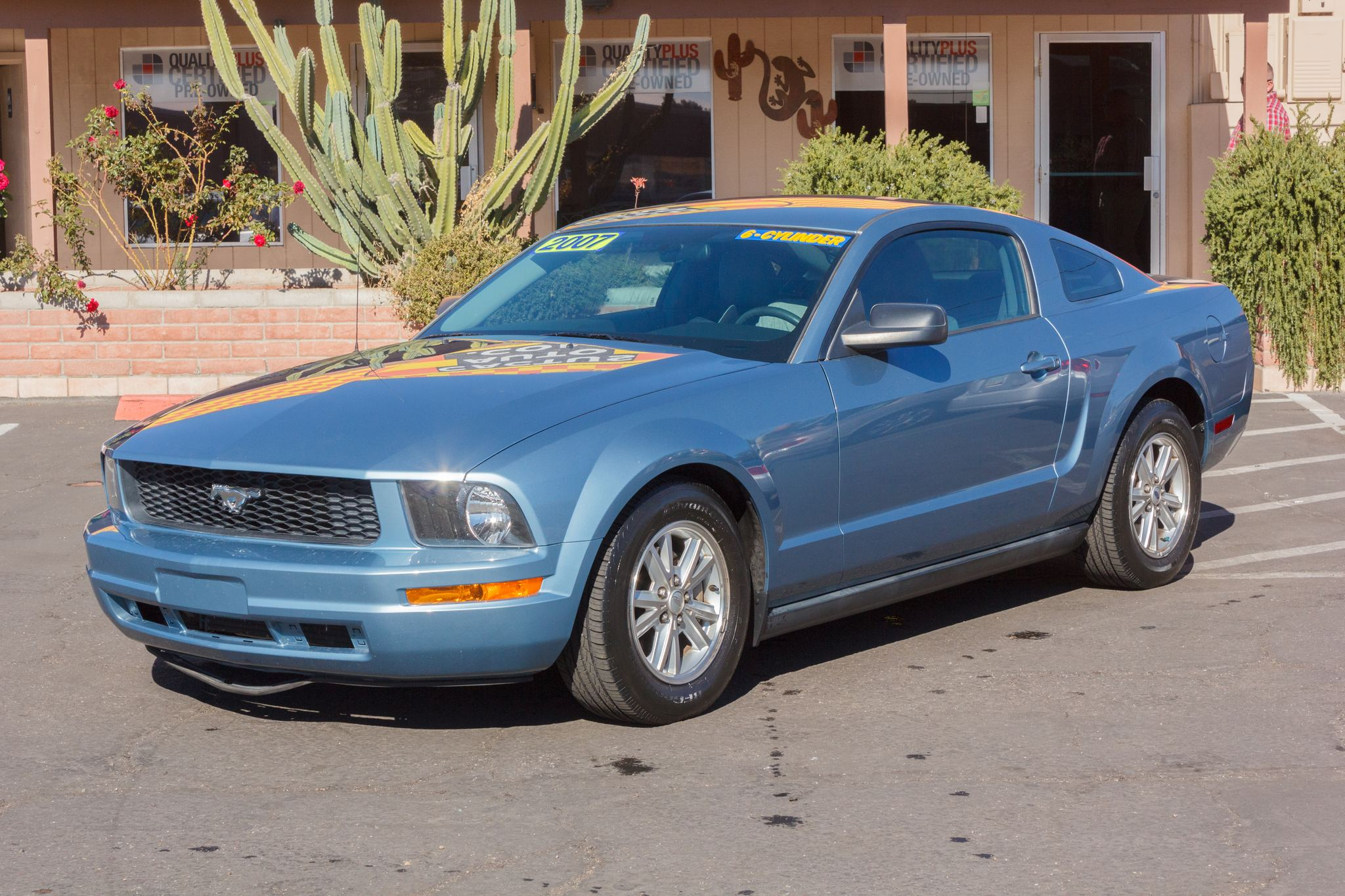 Photo of 2007 Ford Mustang 2d Coupe Deluxe Windveil Blue Clearcoat Metallic