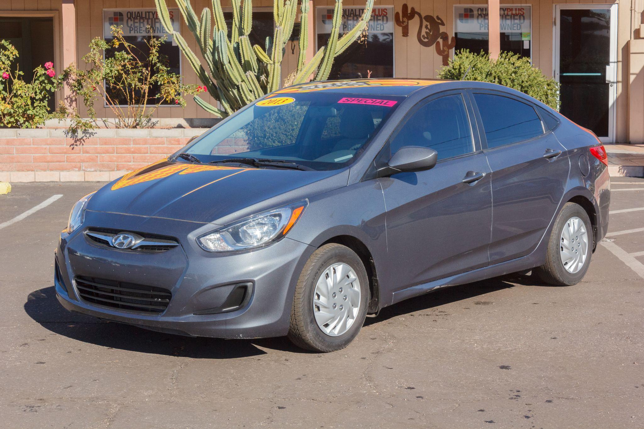 Photo of 2013 Hyundai Accent 4d Sedan GLS Auto Cyclone Gray