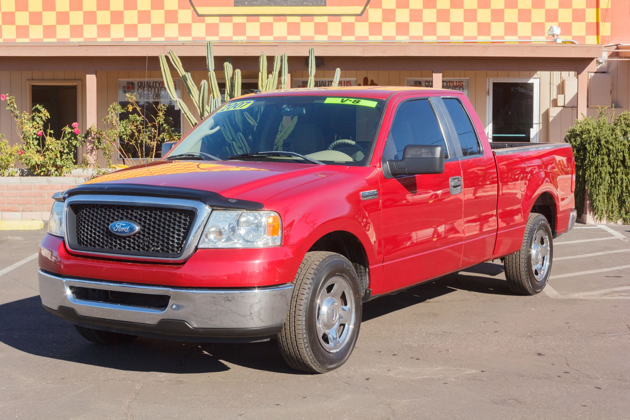 Photo of 2007 Ford F150 2WD Supercab XLT 6 1/2 Redfire Clearcoat Metallic