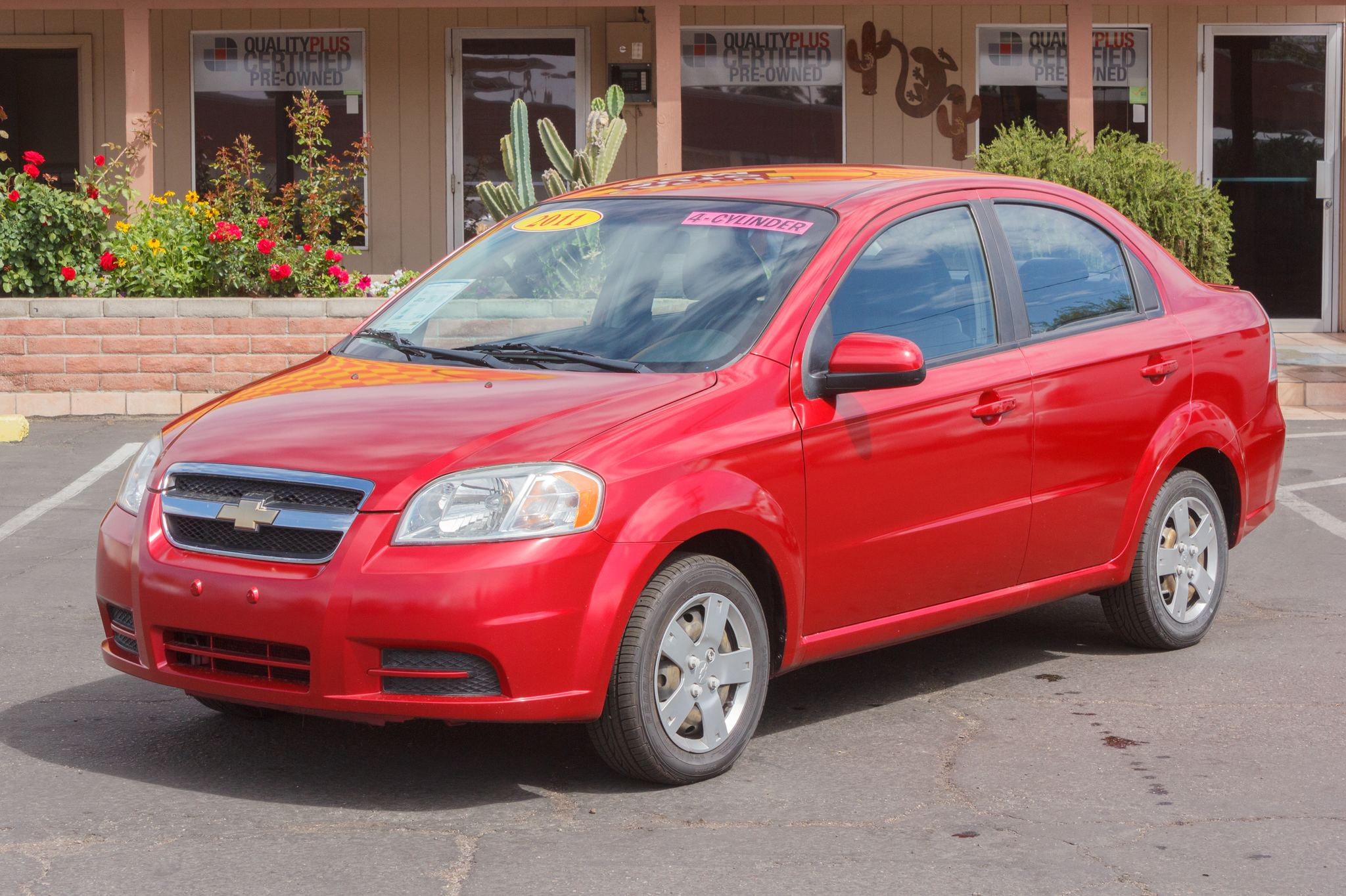 Photo of 2011 Chevrolet Aveo 4d Sedan LT1 Victory Red