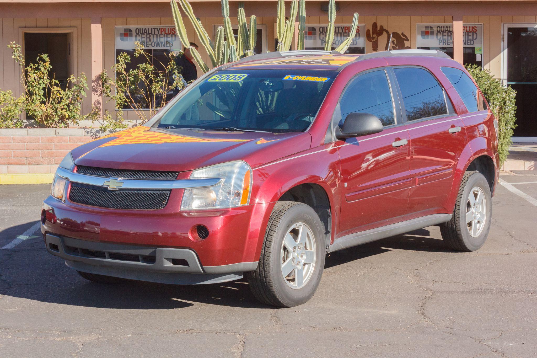 Photo of 2008 Chevrolet Equinox FWD 4d Wagon LS Deep Ruby Metallic