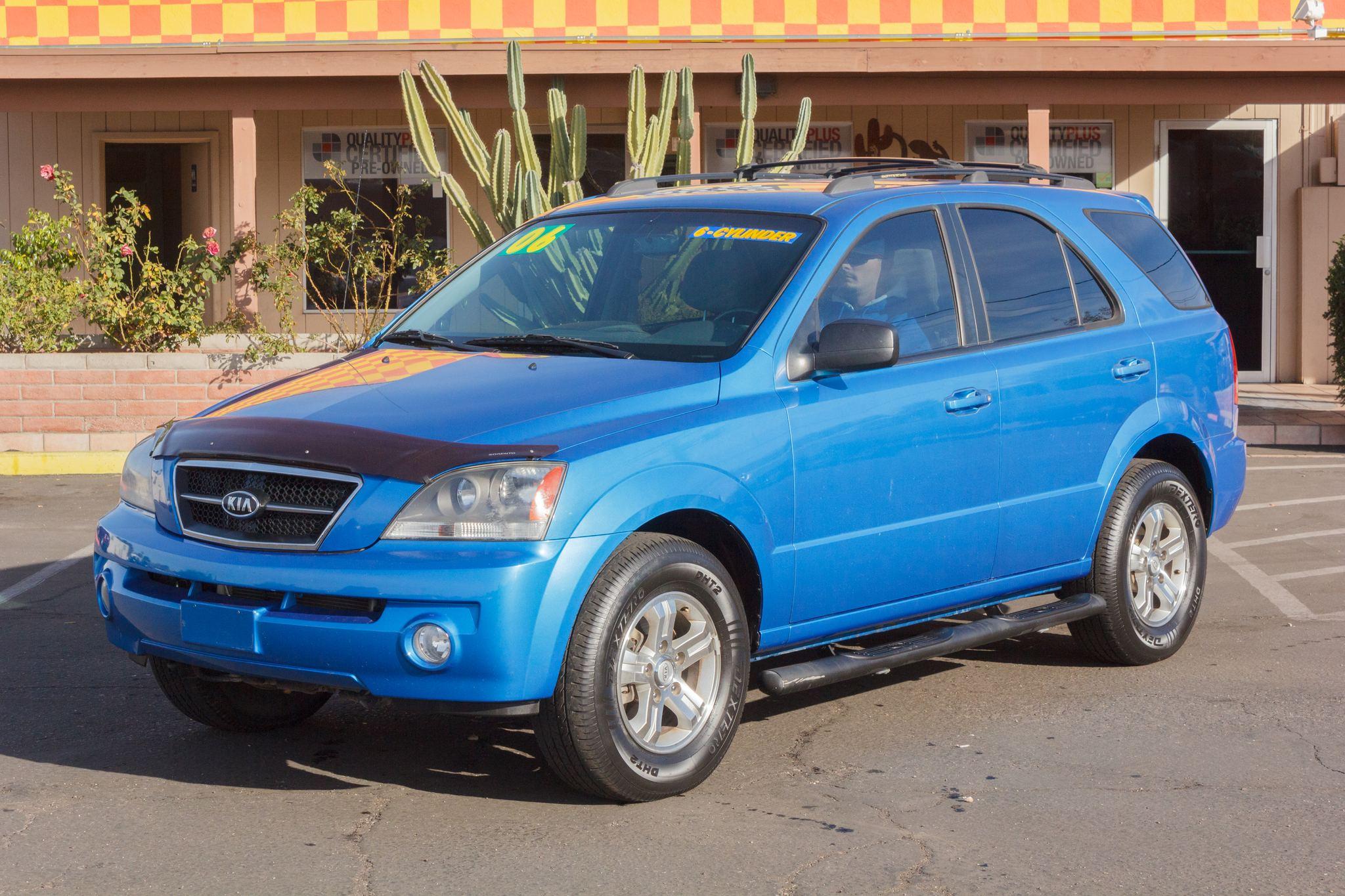 Photo of 2006 Kia Sorento 2WD 5d Wagon EX Indigo Blue