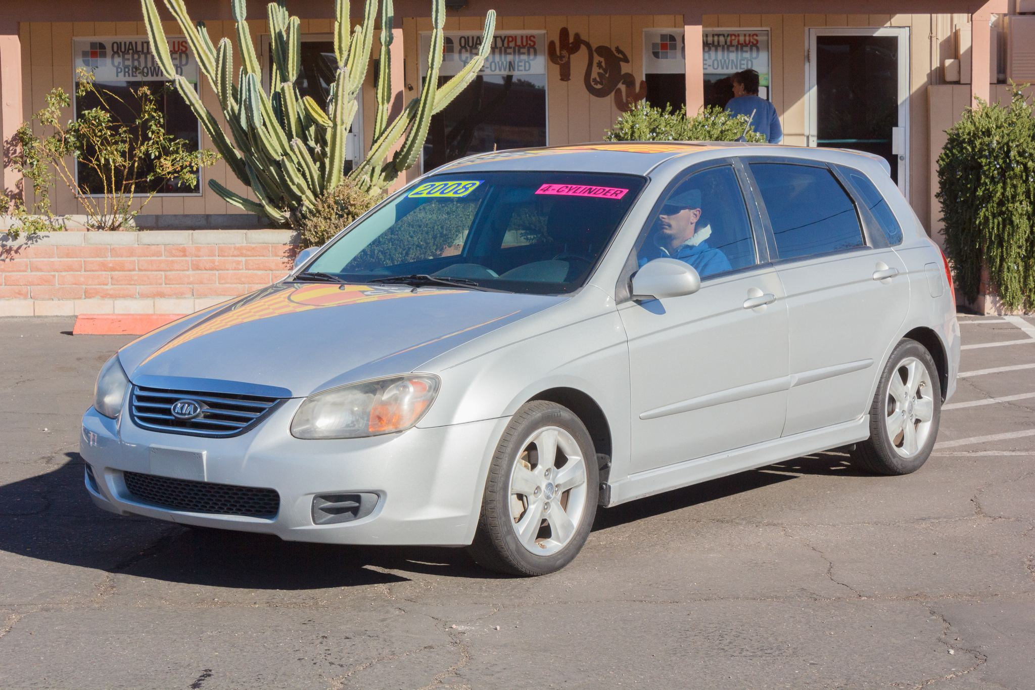 Photo of 2008 Kia Spectra 5d Sedan Spectra5 Auto Bright Silver Metallic