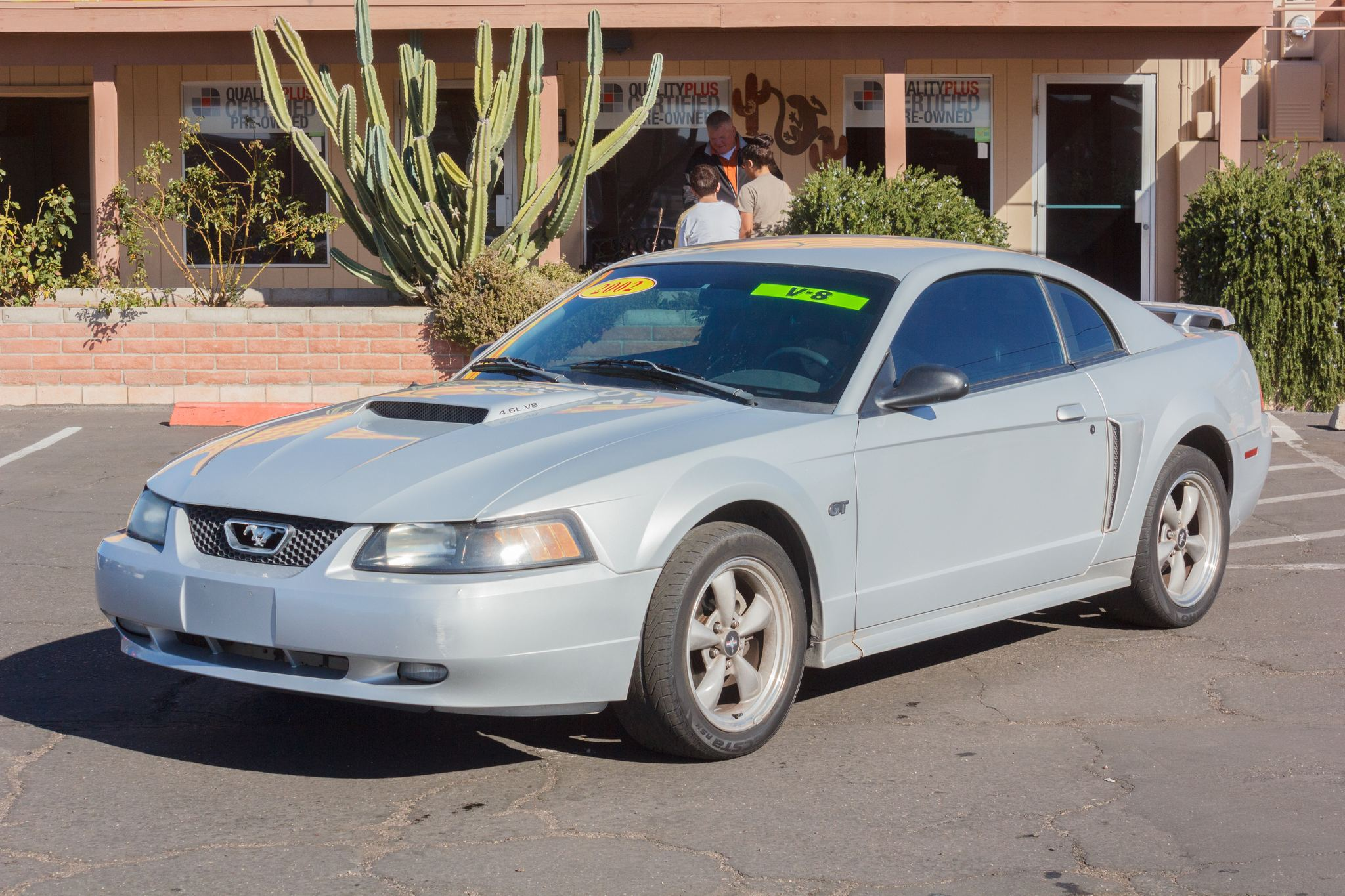 Photo of 2002 Ford Mustang 2d Coupe GT Deluxe Satin Silver Clearcoat