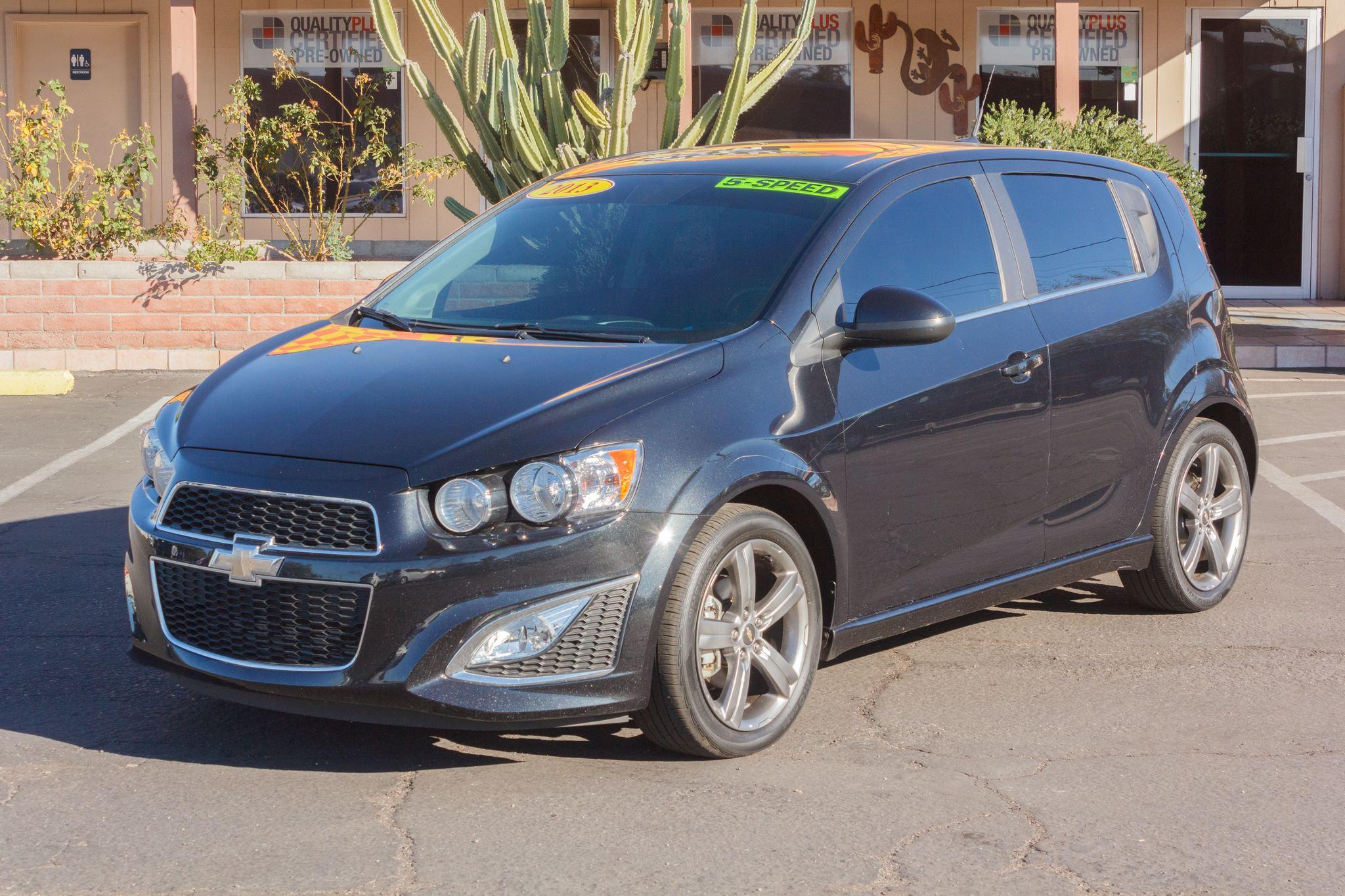 Photo of 2013 Chevrolet Sonic 4d Hatchback RS MT Black Granite Metallic