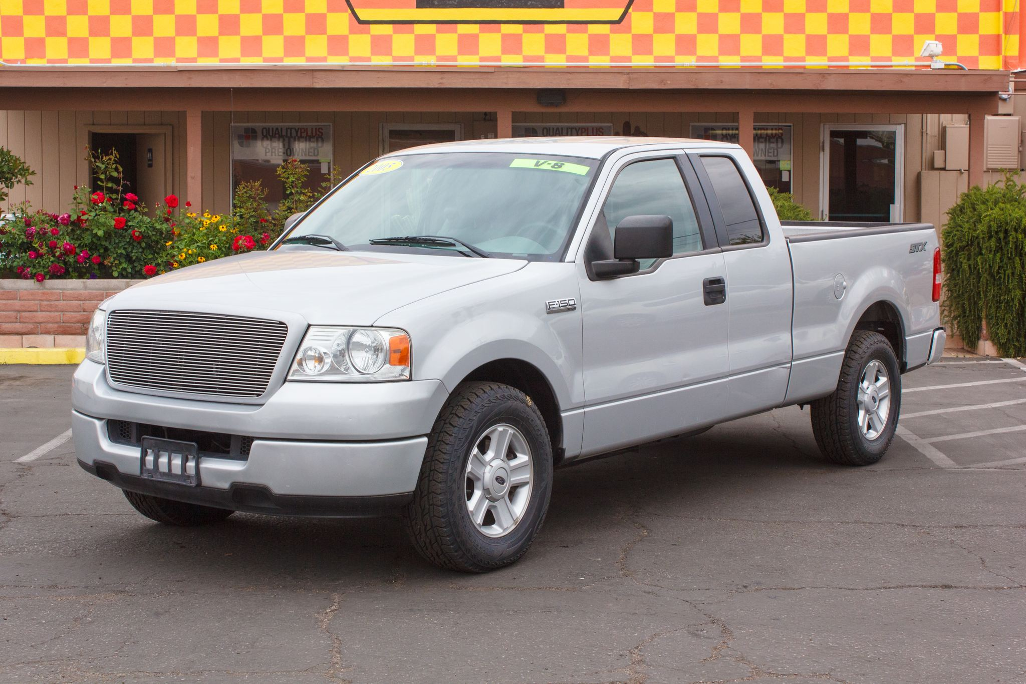 Photo of 2005 Ford F150 2WD Supercab XL Silver Clearcoat Metallic