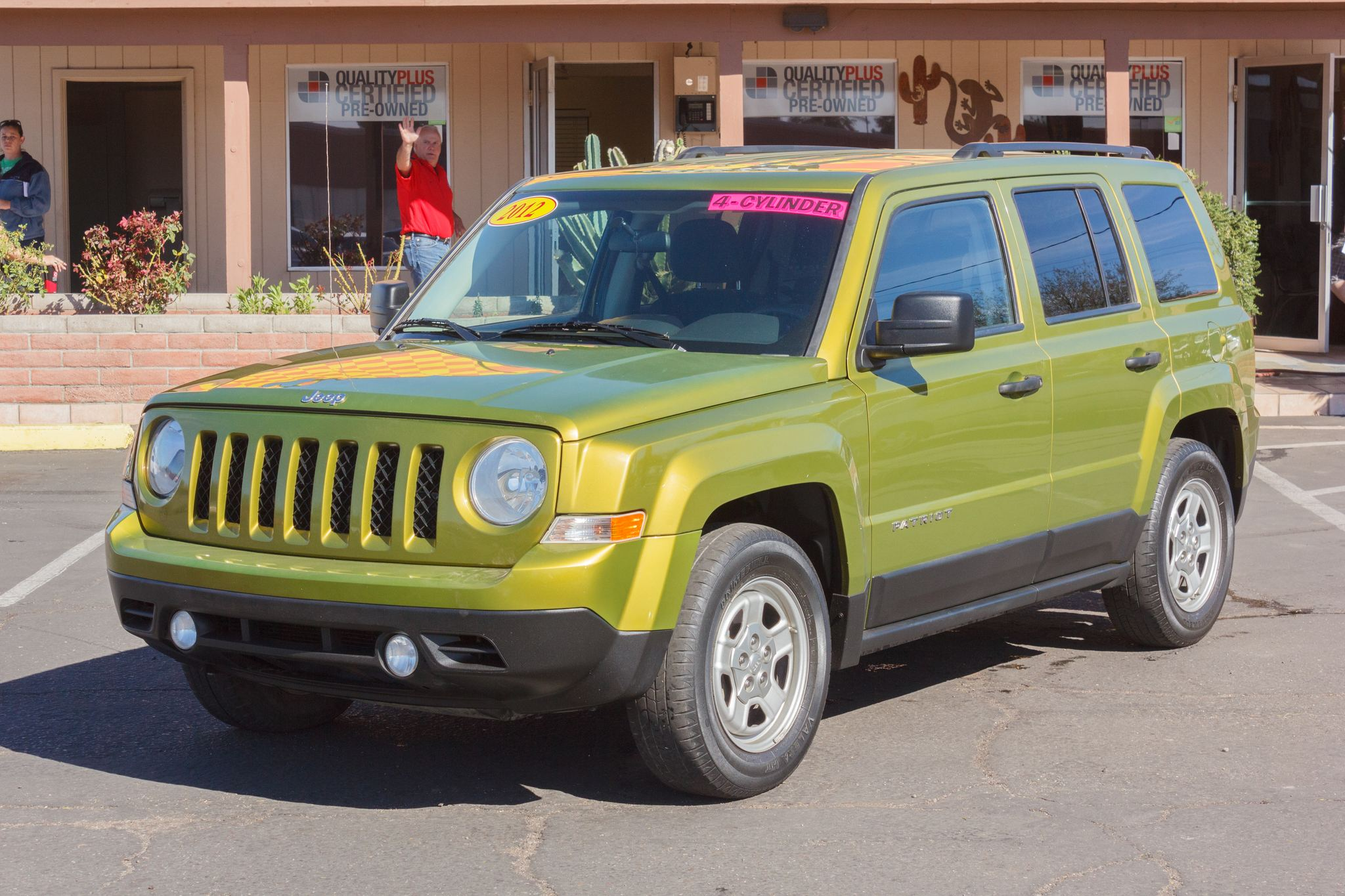 Photo of 2012 Jeep Patriot FWD 4d Wagon Sport Rescue Green Metallic Clearcoat