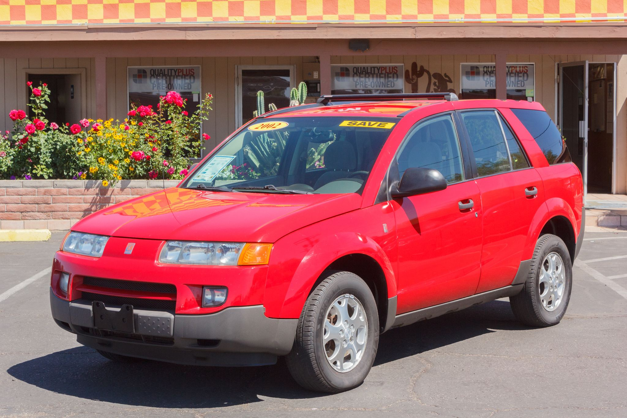 Photo of 2002 Saturn Vue AWD 4d Wagon (V6) Red