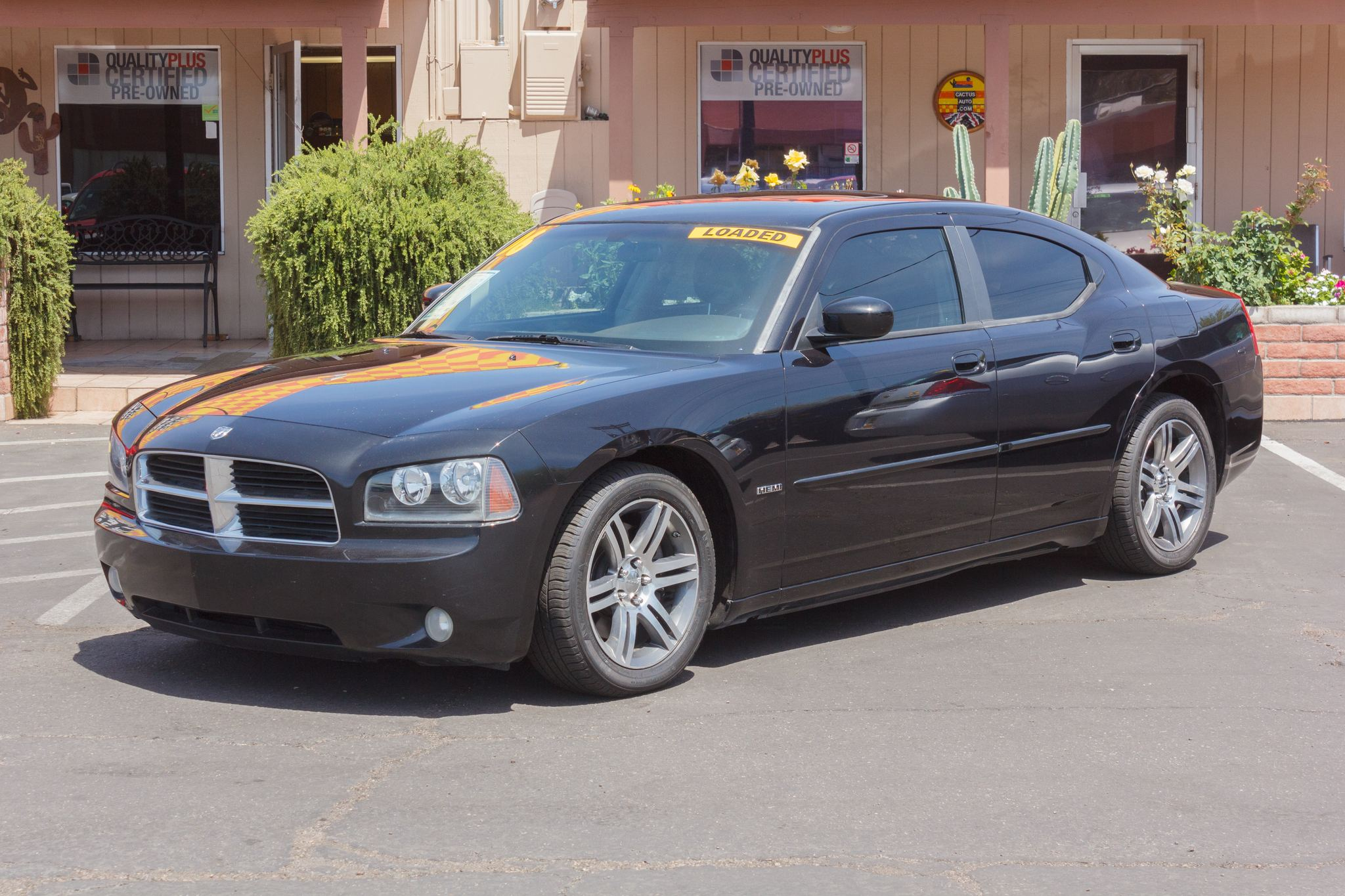 Photo of 2006 Dodge Charger 4d Sedan R/T Brilliant Black Crystal Pearlcoat