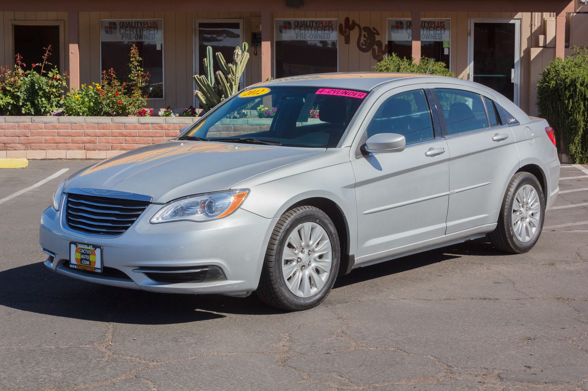 Photo of 2012 Chrysler 200 4d Sedan LX Bright Silver Metallic Clearcoat