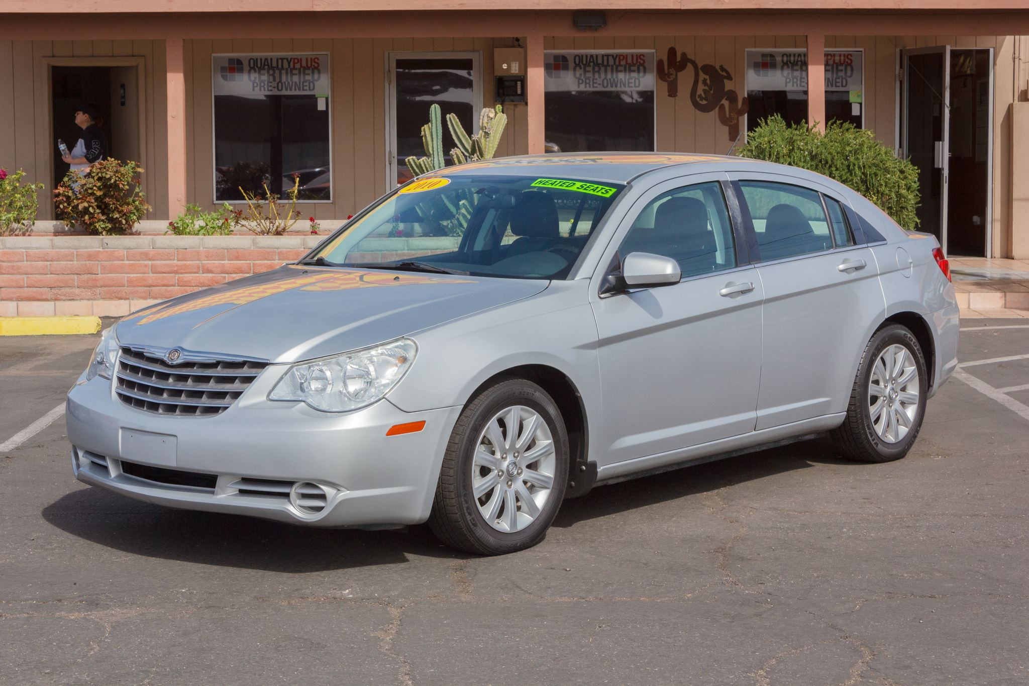 Photo of 2010 Chrysler Sebring 4d Sedan Limited 2.4L Bright Silver Metallic Clearcoat
