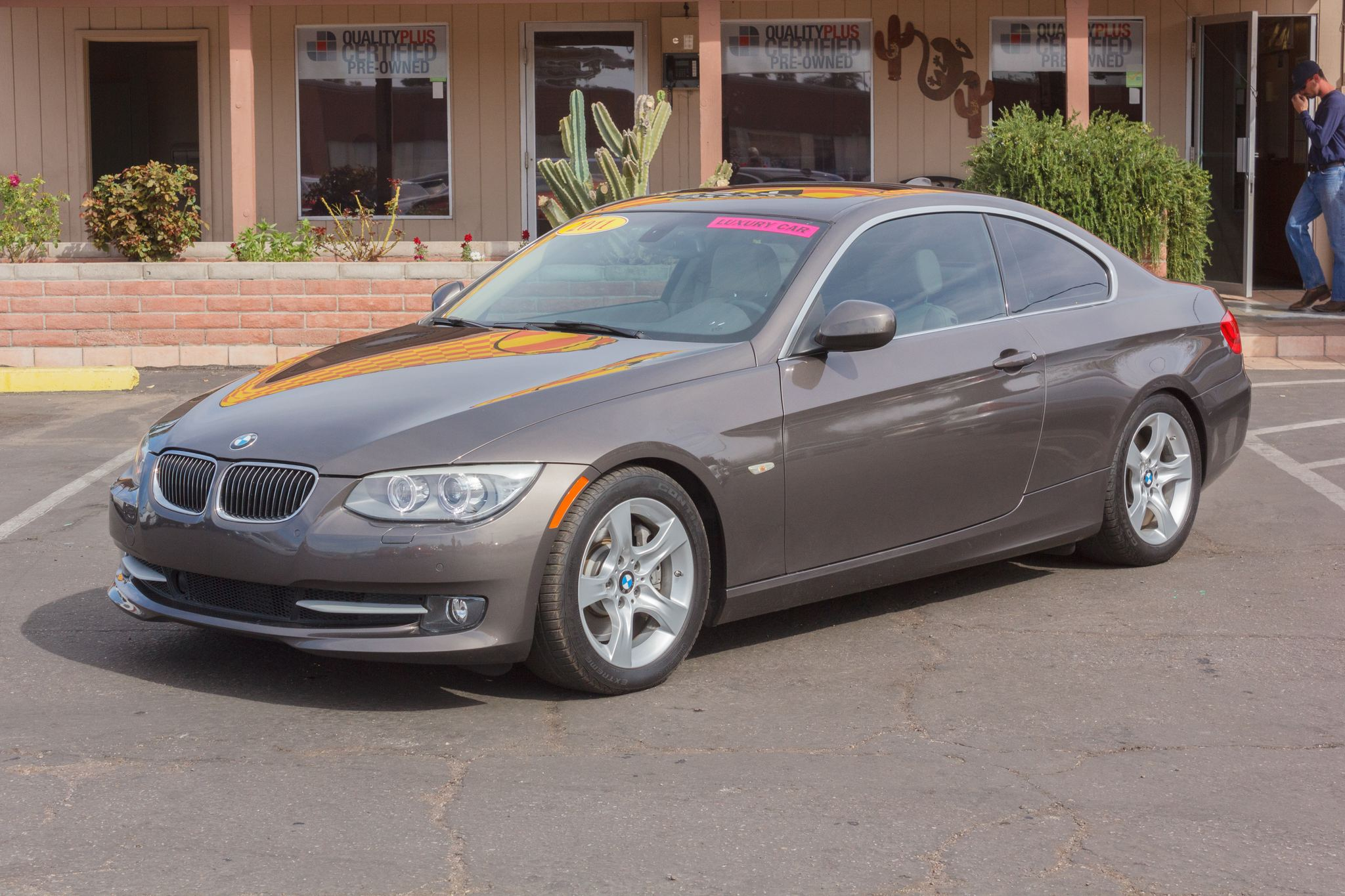 Photo of 2011 BMW 3 Series 2d Coupe 335i Space Gray Metallic