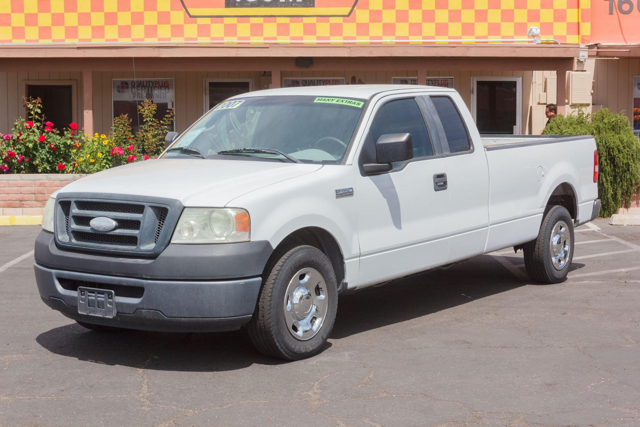 Photo of 2007 Ford F150 2WD Supercab XLT Longbed Oxford White Clearcoat