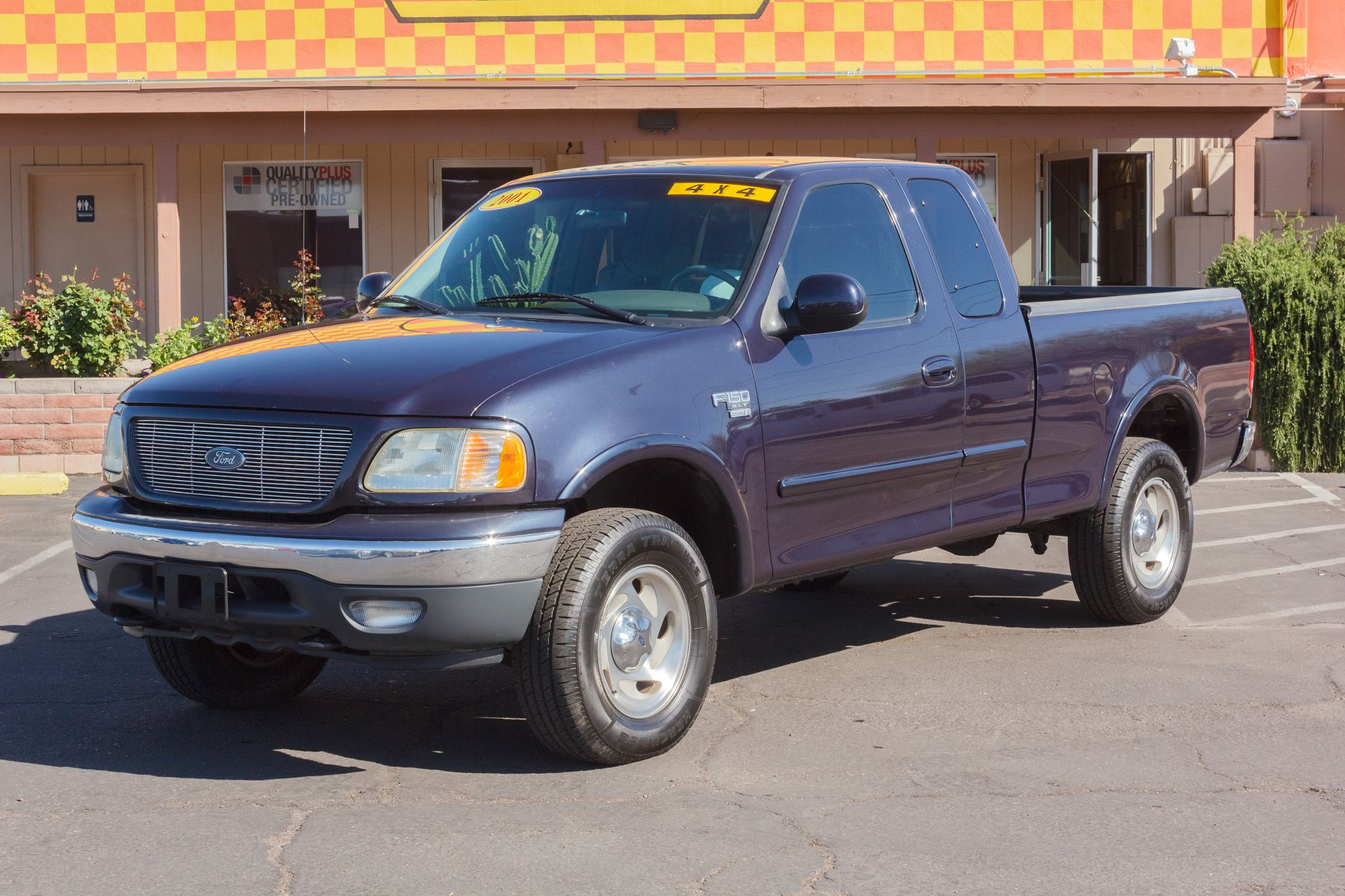 Photo of 2001 Ford F150 4WD Supercab XLT Charcoal Blue Clearcoat Metallic