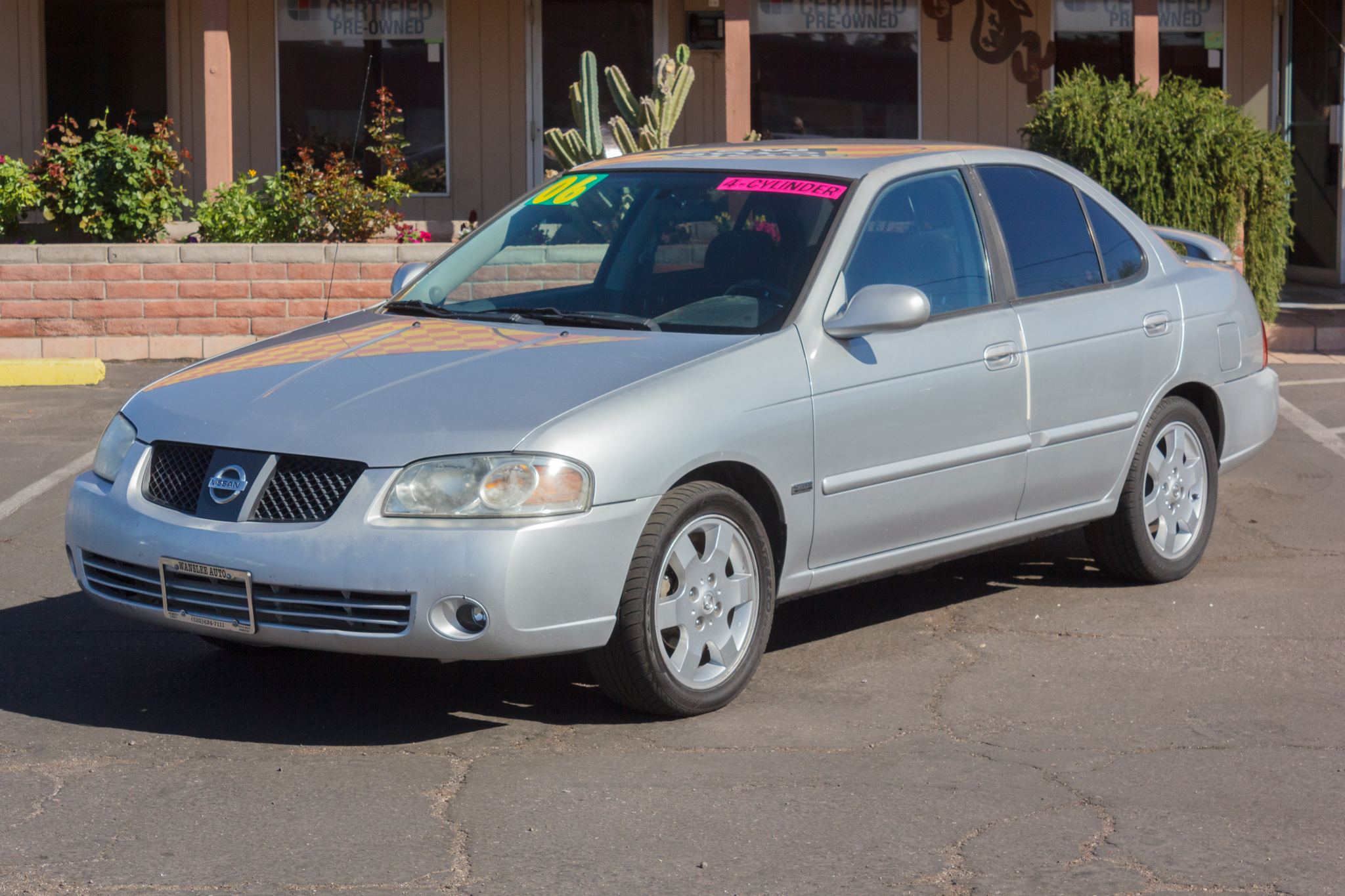 Photo of 2006 Nissan Sentra 4d Sedan 1.8 S Auto Bronze Shimmer Clearcoat