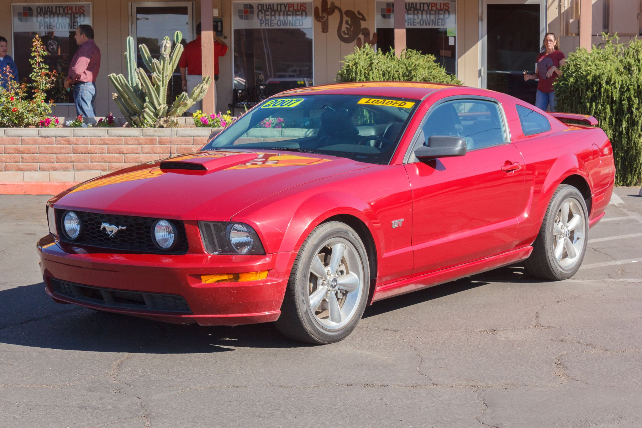 Photo of 2007 Ford Mustang 2d Coupe GT Premium Redfire Clearcoat Metallic