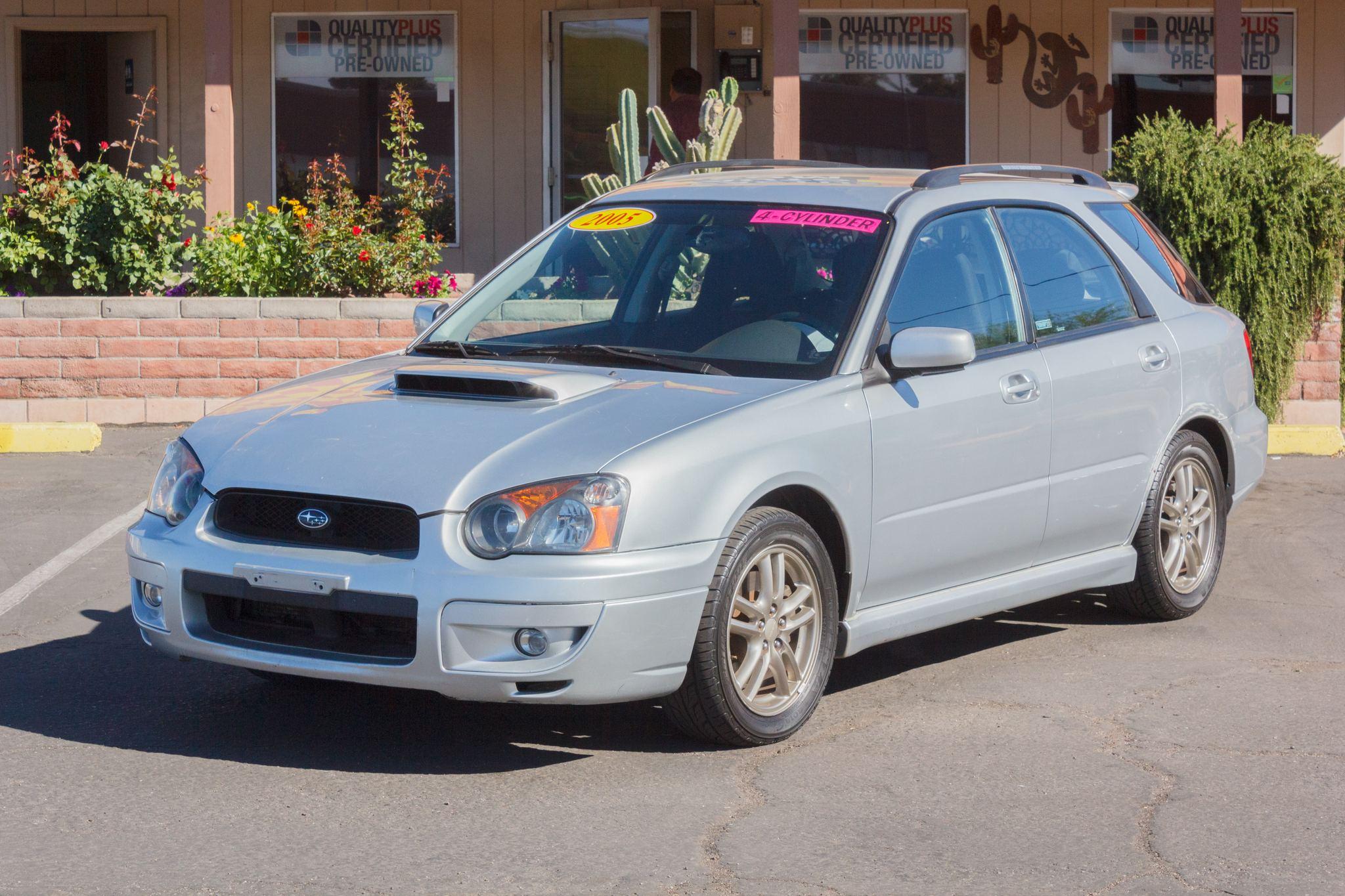 Photo of 2005 Subaru Impreza Wagon 4d Wagon WRX Platinum Silver Metallic