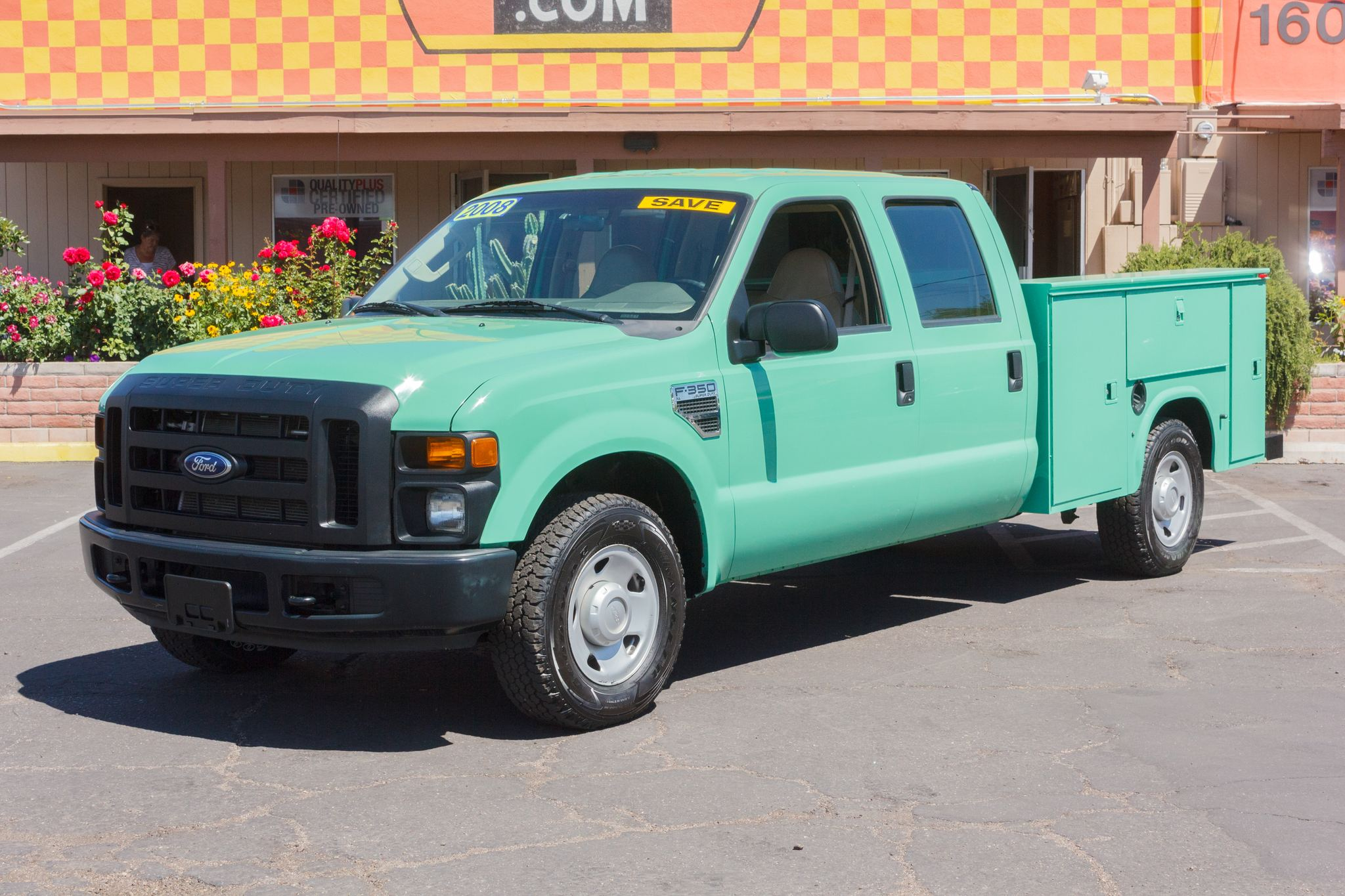 Photo of 2008 Ford F350 2WD Crew Cab XL SRW Forest Green Clearcoat Metallic
