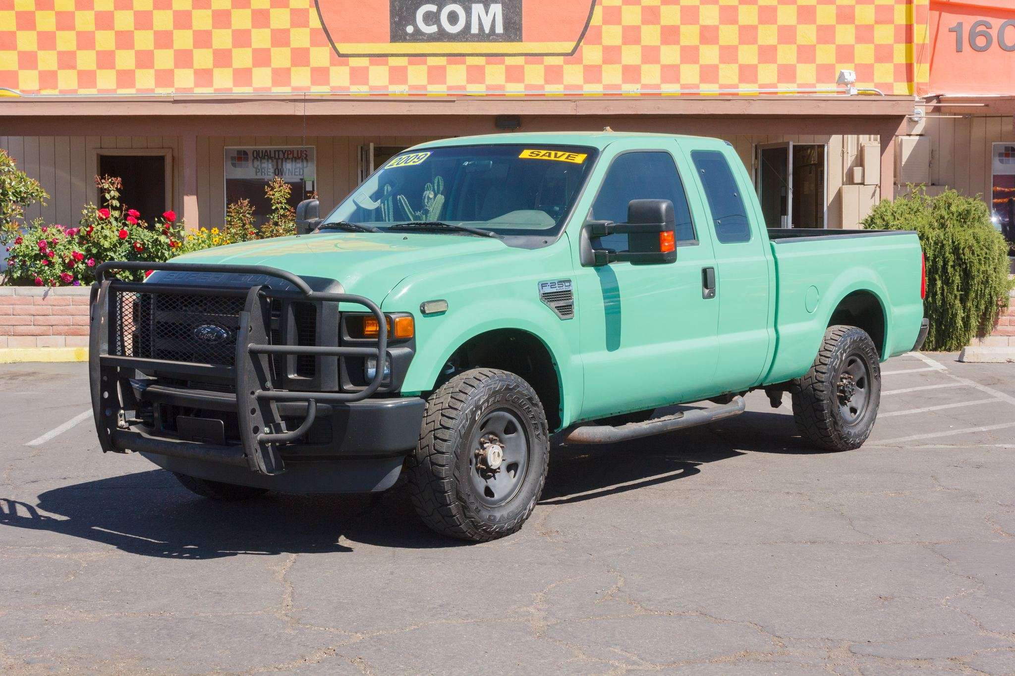 Photo of 2009 Ford F250 4WD Supercab XL Forest Green Clearcoat Metallic
