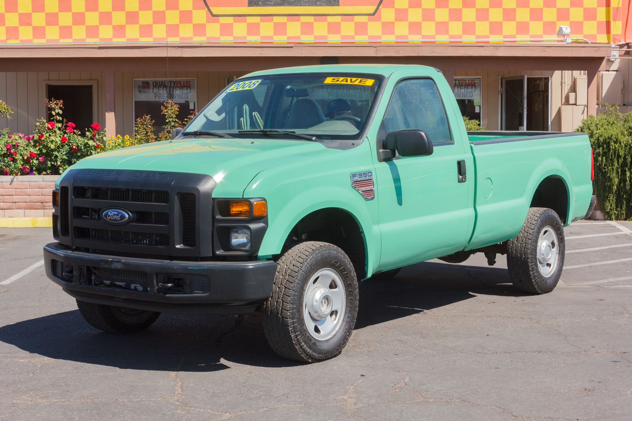 Photo of 2008 Ford F350 4WD Reg Cab XL SRW Forest Green Clearcoat Metallic