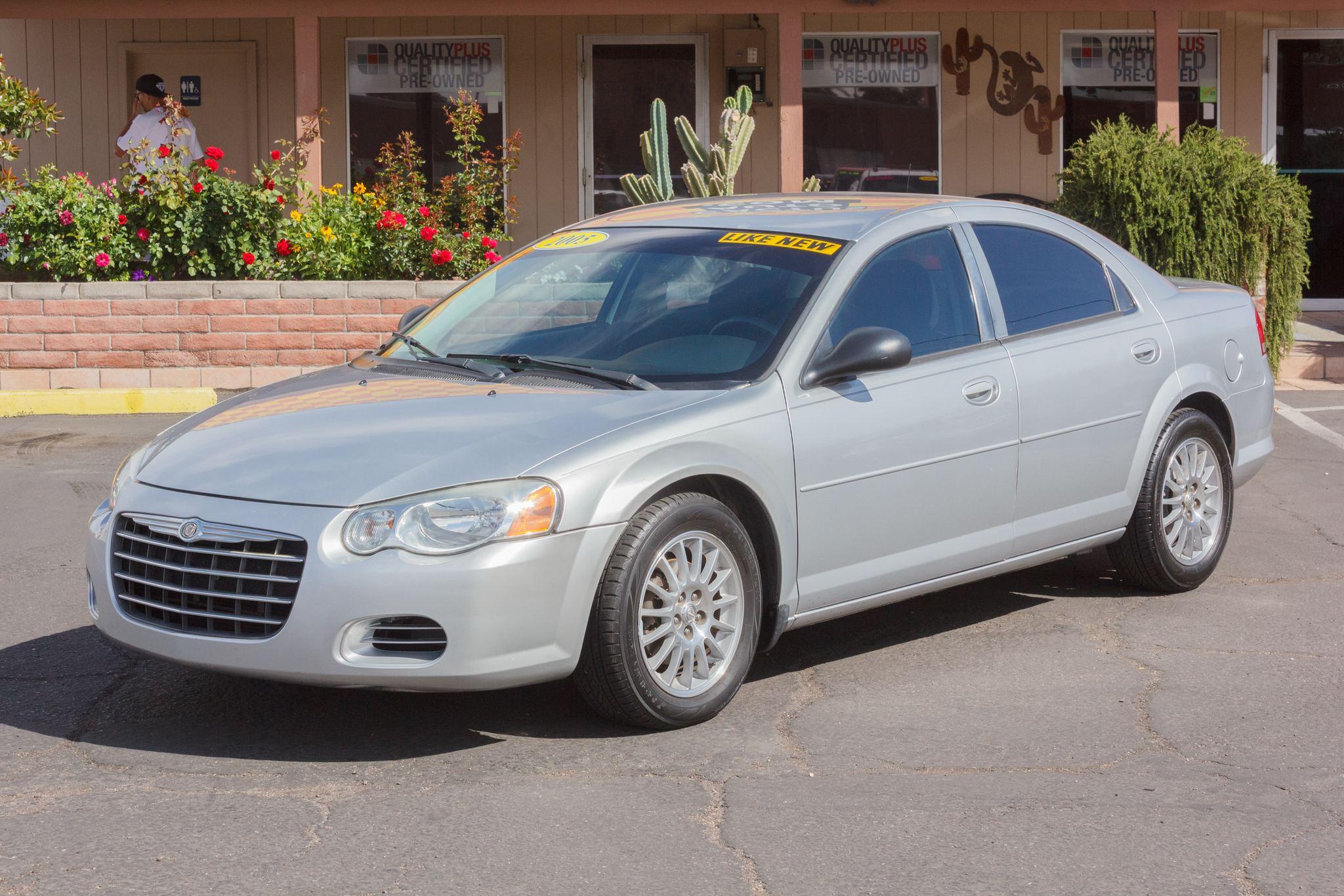 Photo of 2005 Chrysler Sebring 4d Sedan Bright Silver Metallic Clearcoat