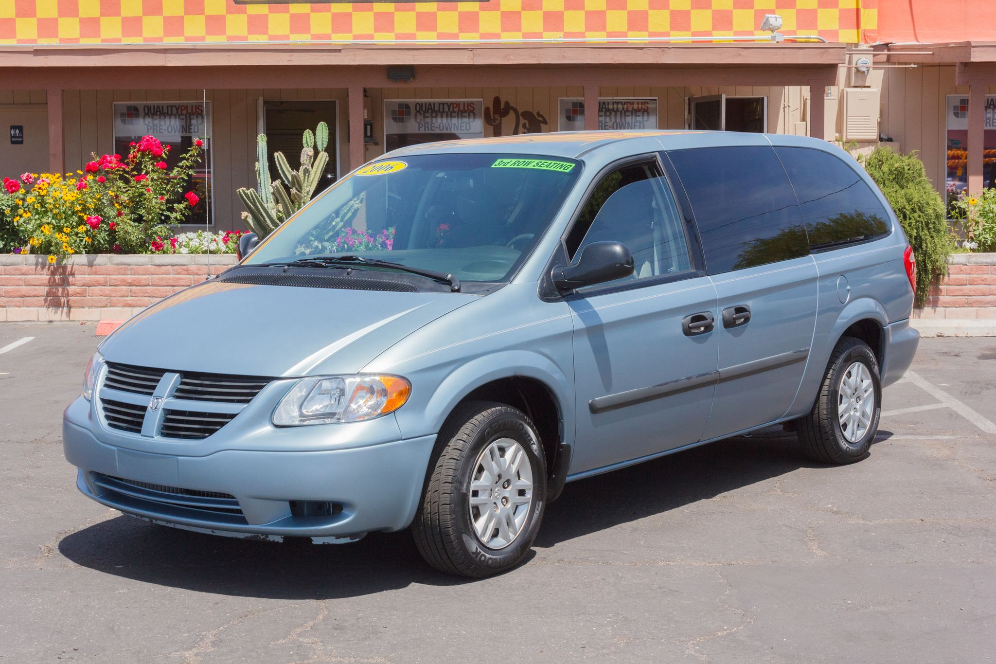 Photo of 2006 Dodge Grand Caravan 4d Wagon SE Atlantic Blue Pearlcoat