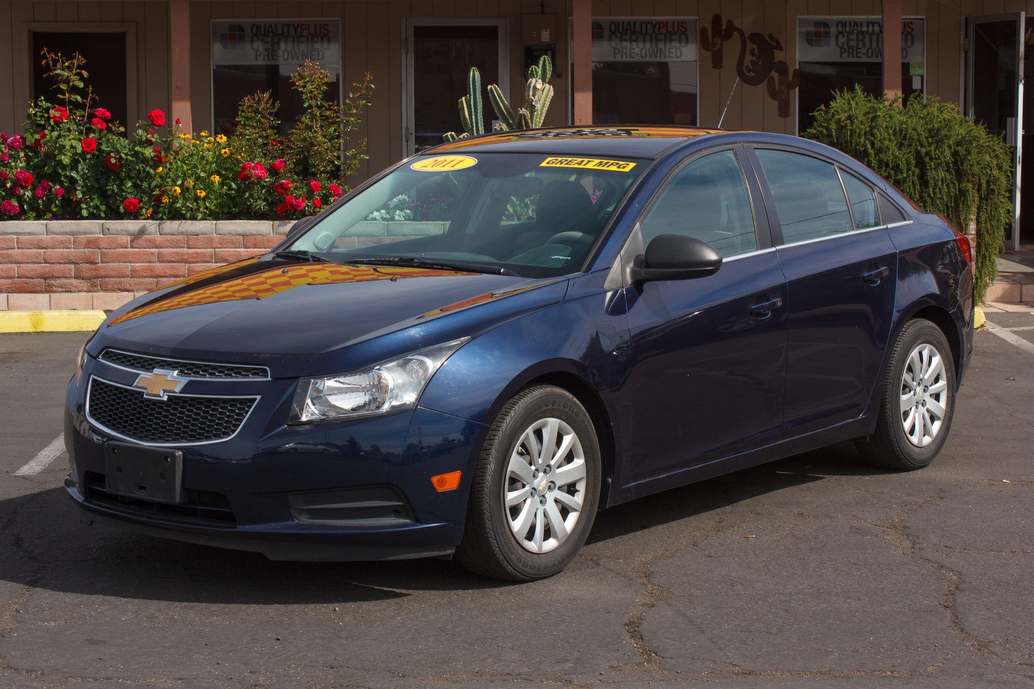 Photo of 2011 Chevrolet Cruze 4d Sedan LS Imperial Blue Metallic