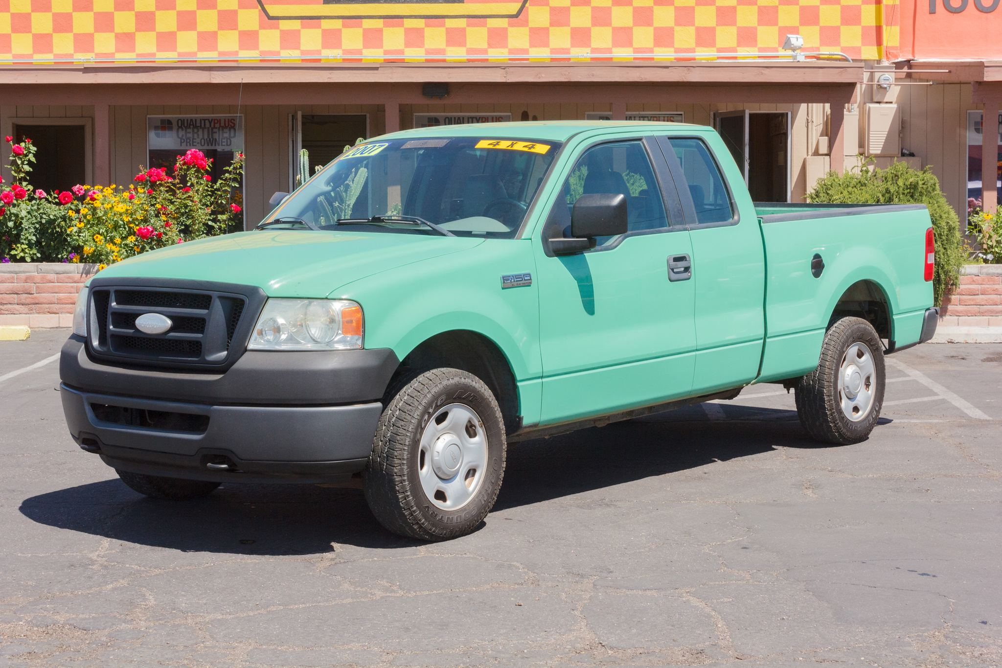 Photo of 2007 Ford F150 4WD Supercab XL Forest Green Clearcoat Metallic