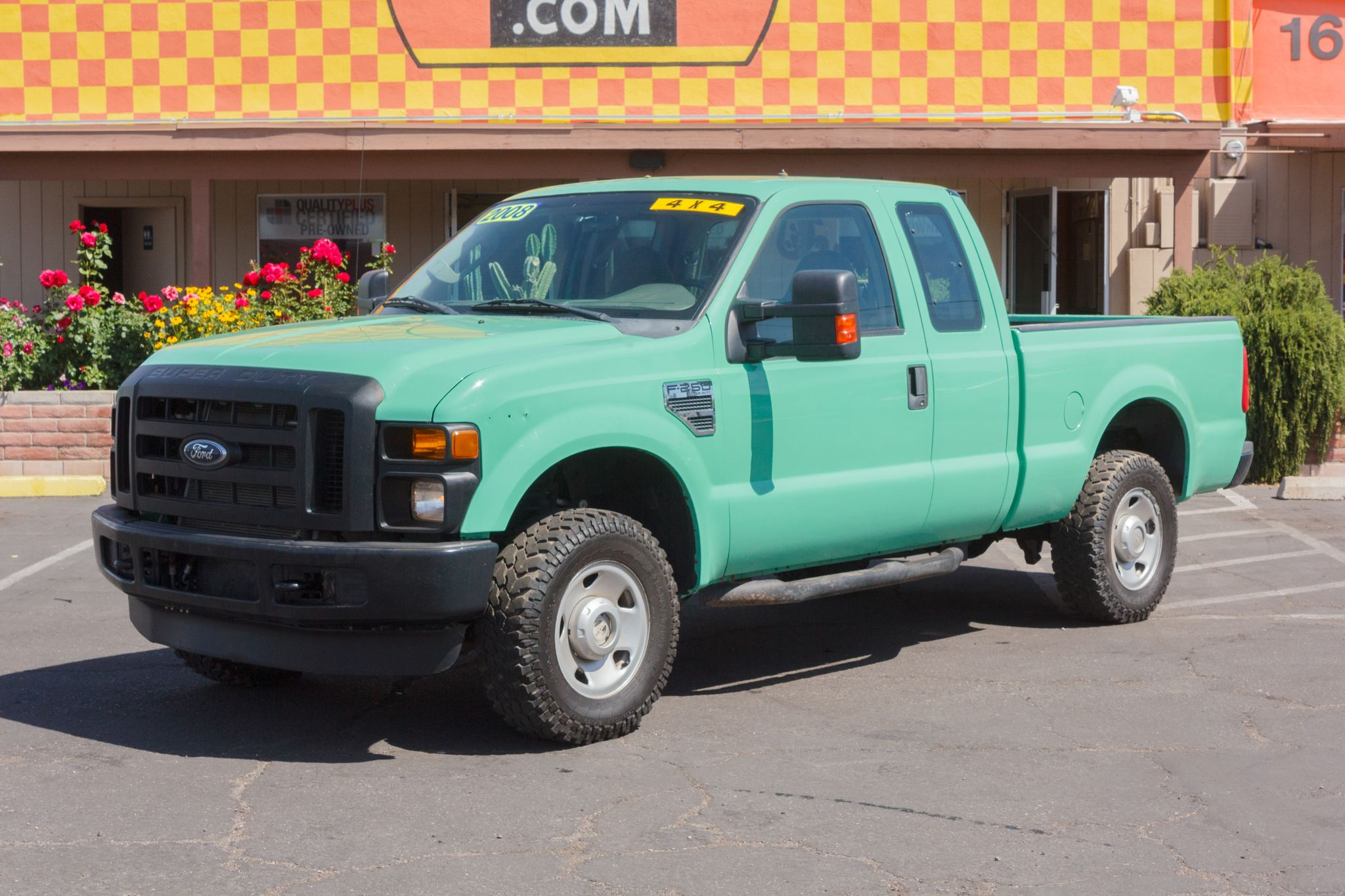 Photo of 2008 Ford F250 4WD Supercab XL Forest Green Clearcoat Metallic