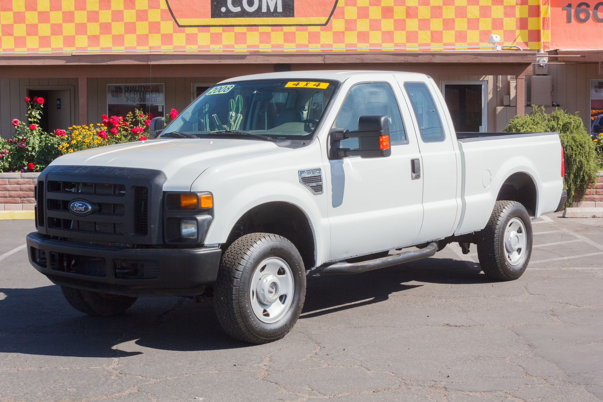 Photo of 2008 Ford F350 4WD Supercab XL SRW Oxford White Clearcoat