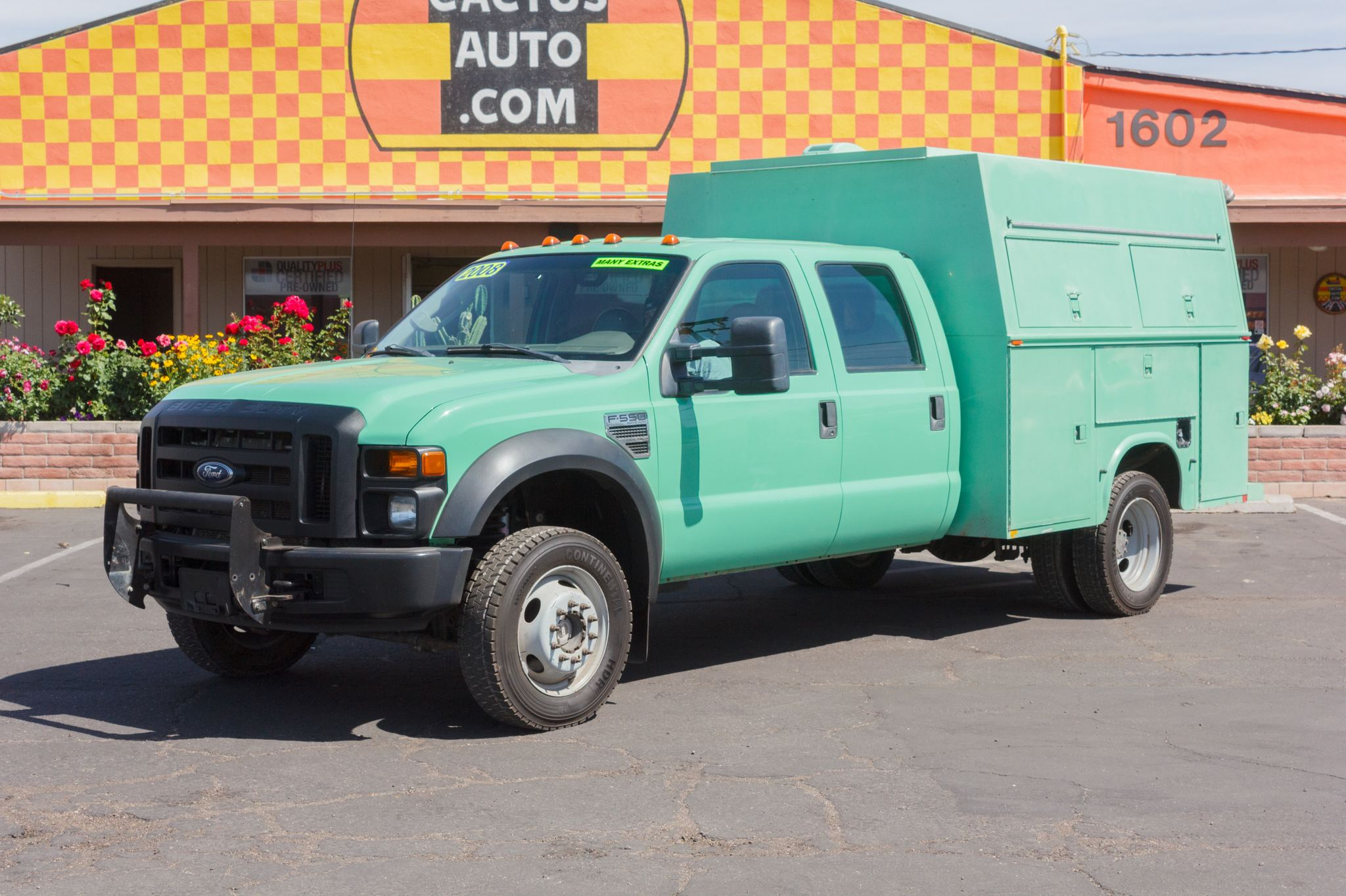 Photo of 2008 Ford F550 Cab-Chassis 4WD Crew Cab USFS Green
