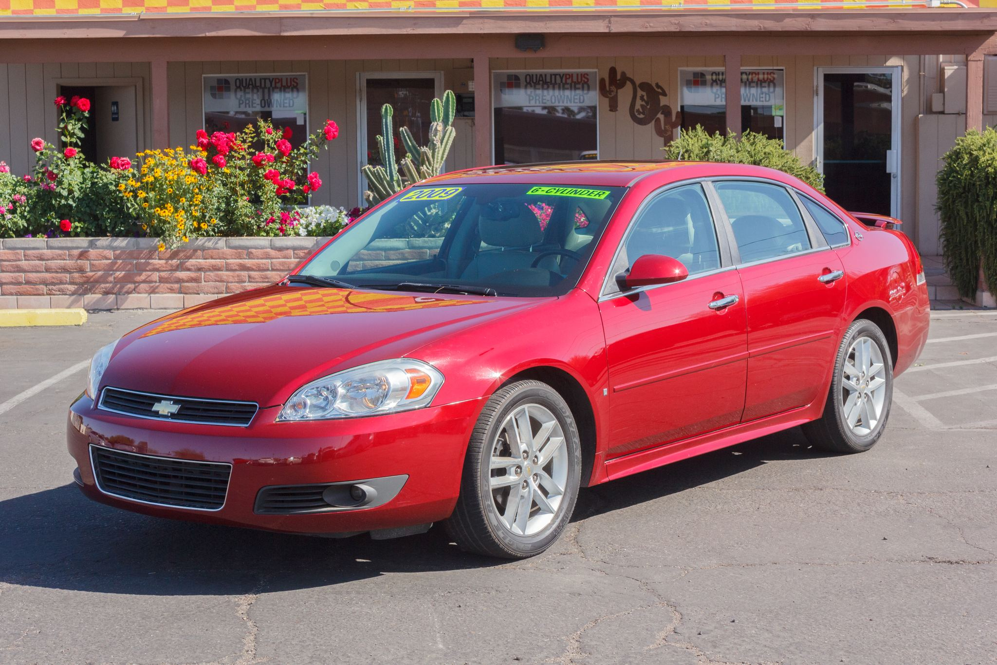 Photo of 2009 Chevrolet Impala 4d Sedan LTZ Red Jewel Tintcoat