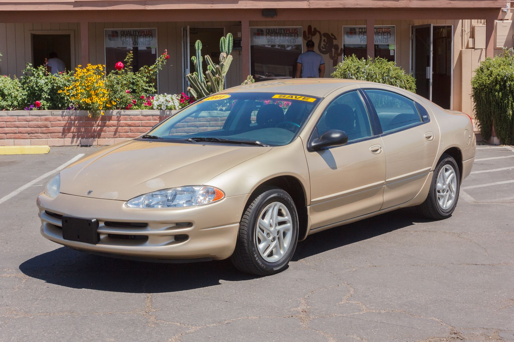 Photo of 2001 Dodge Intrepid 4d Sedan SE Champagne Pearl Clearcoat