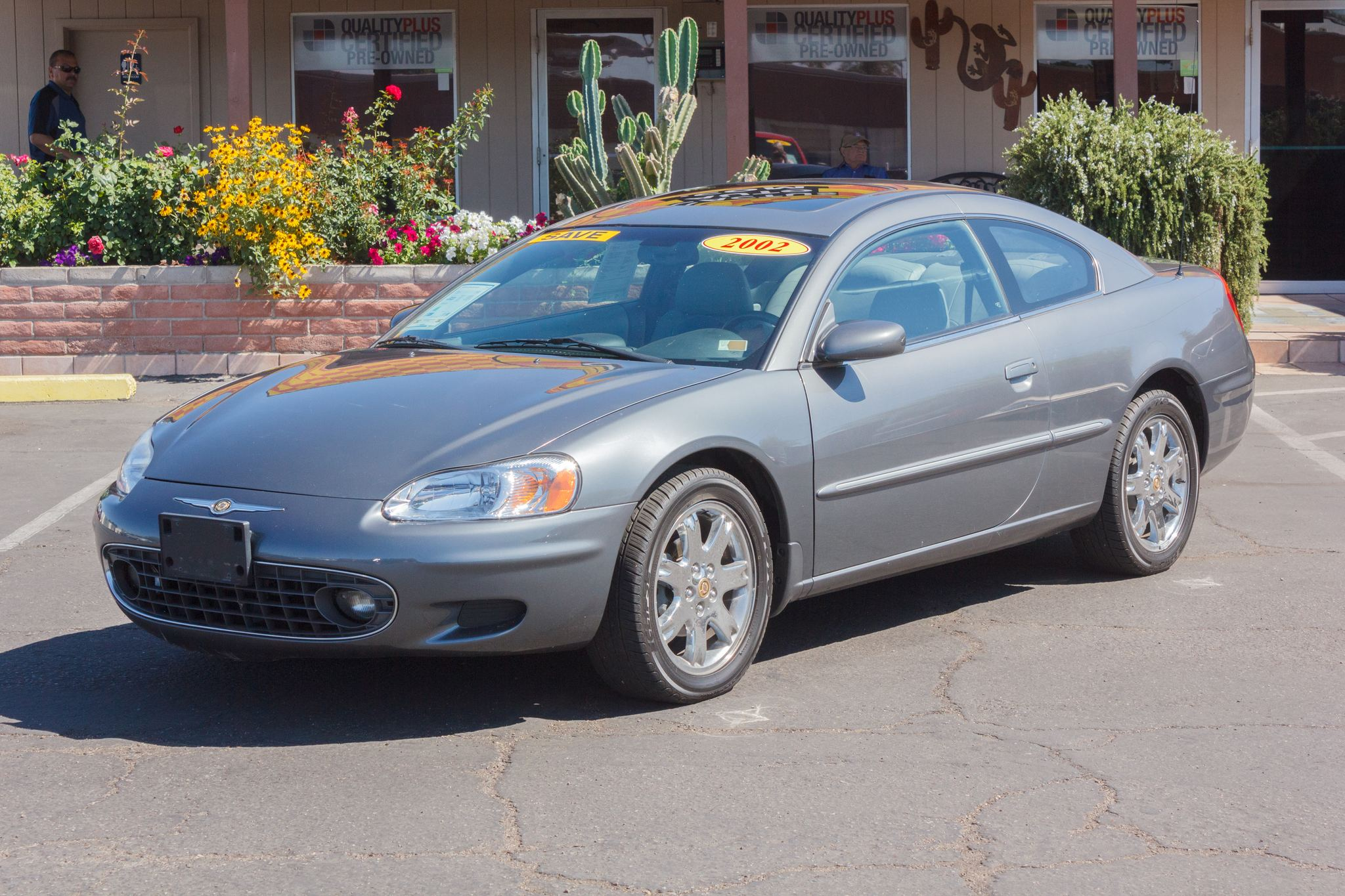 Photo of 2002 Chrysler Sebring 2d Coupe LXi Gray