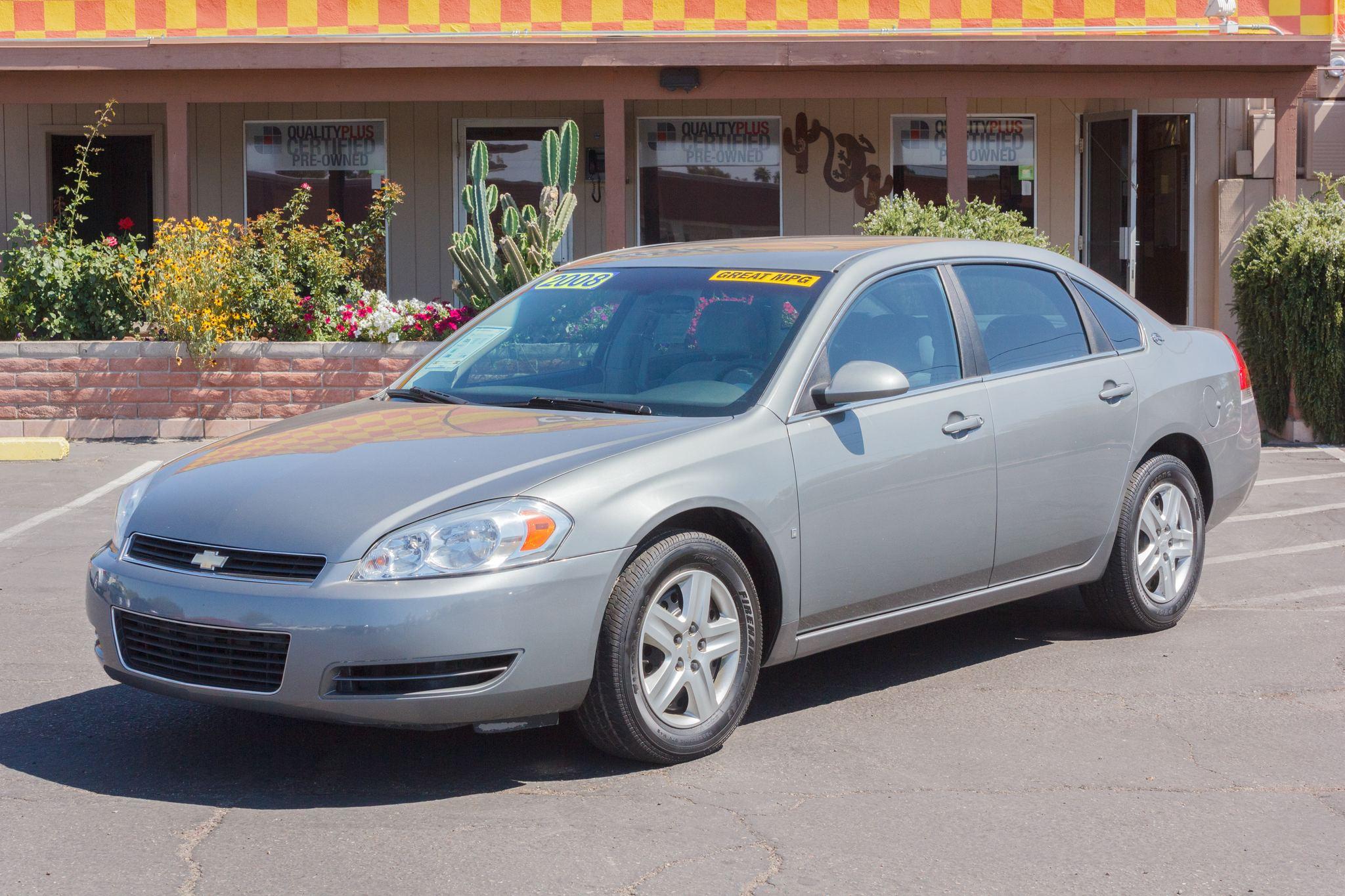 Photo of 2008 Chevrolet Impala 4d Sedan LS Slate Metallic